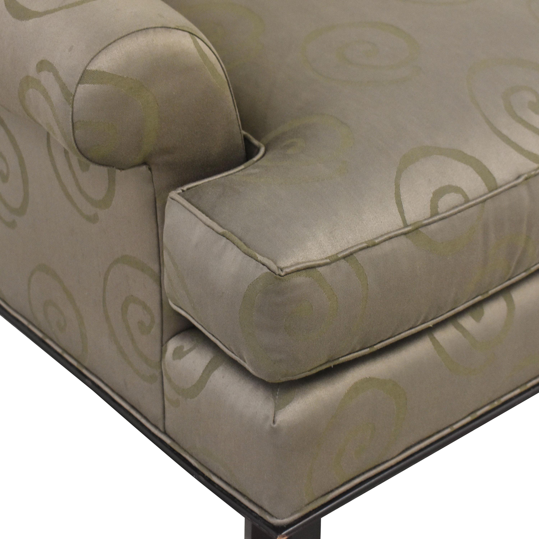Baker Furniture Baker Roll Arm Lounge Chair second hand