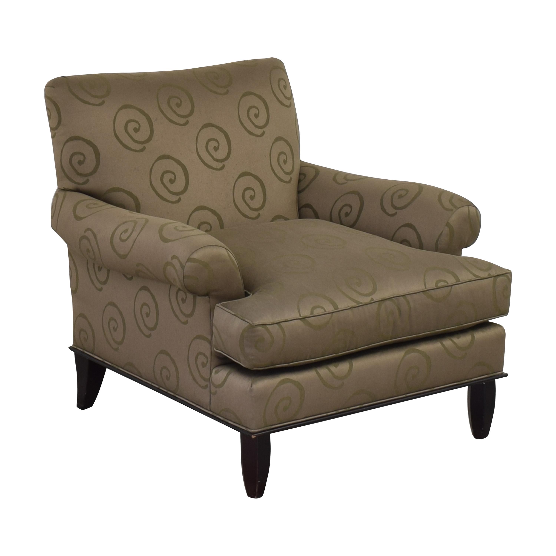 buy Baker Roll Arm Lounge Chair Baker Furniture