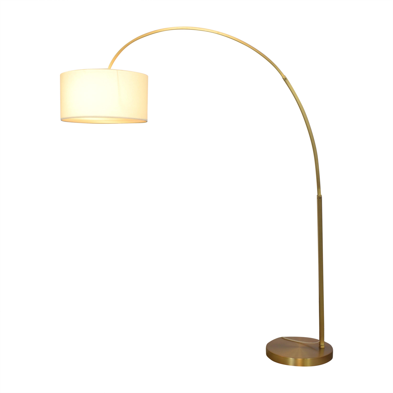 West Elm West Elm Arc Mid-Century Table Lamp dimensions