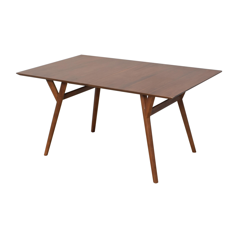 West Elm West Elm Mid-Century Expandable Dining Table for sale