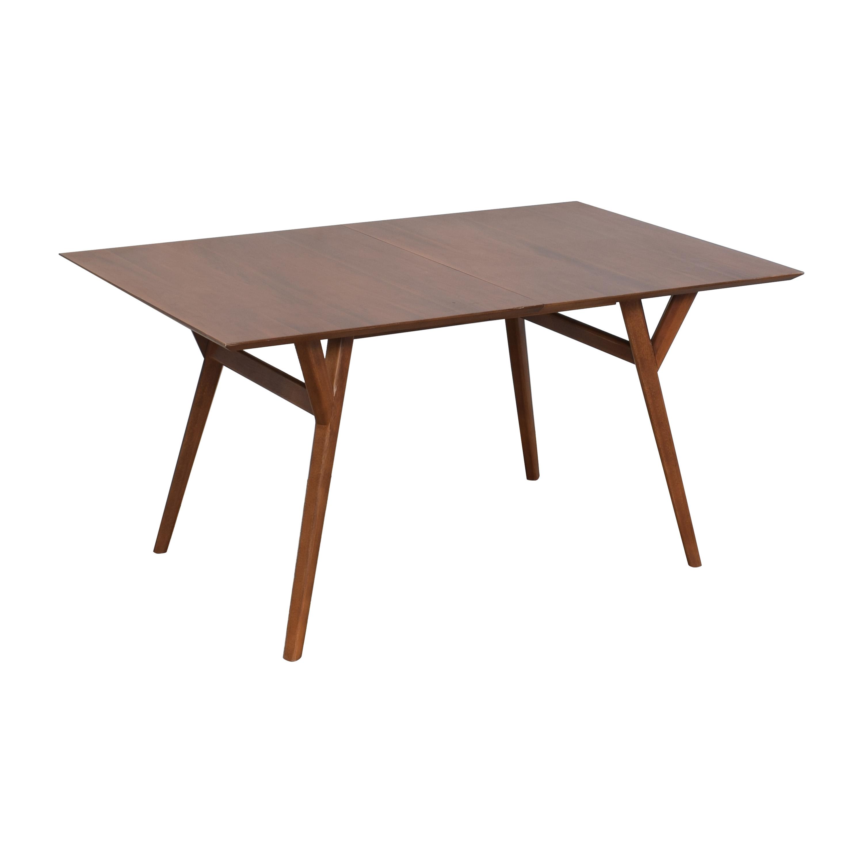 shop West Elm West Elm Mid-Century Expandable Dining Table online