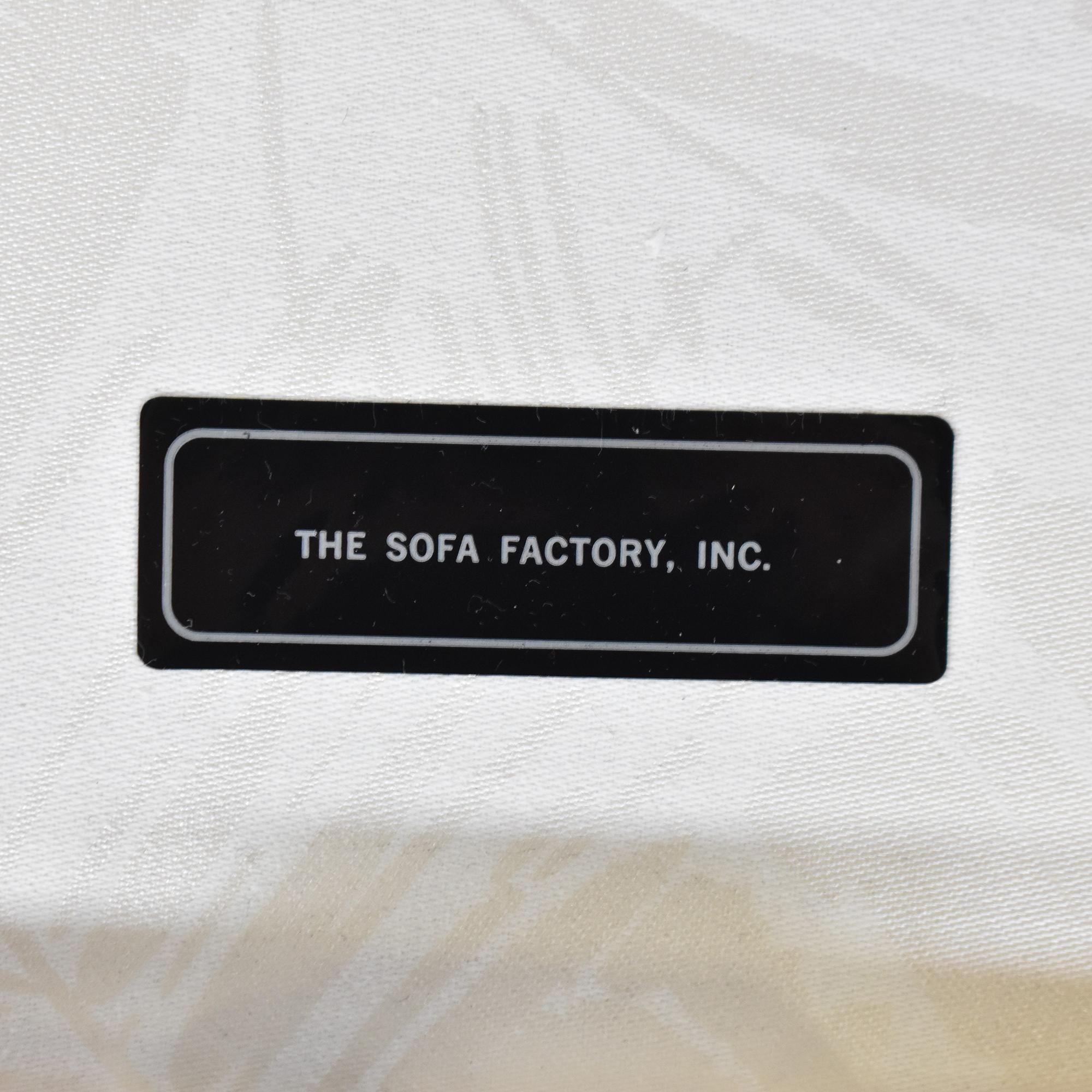 The Sofa Factory The Sofa Factory Three Cushion Sofa white