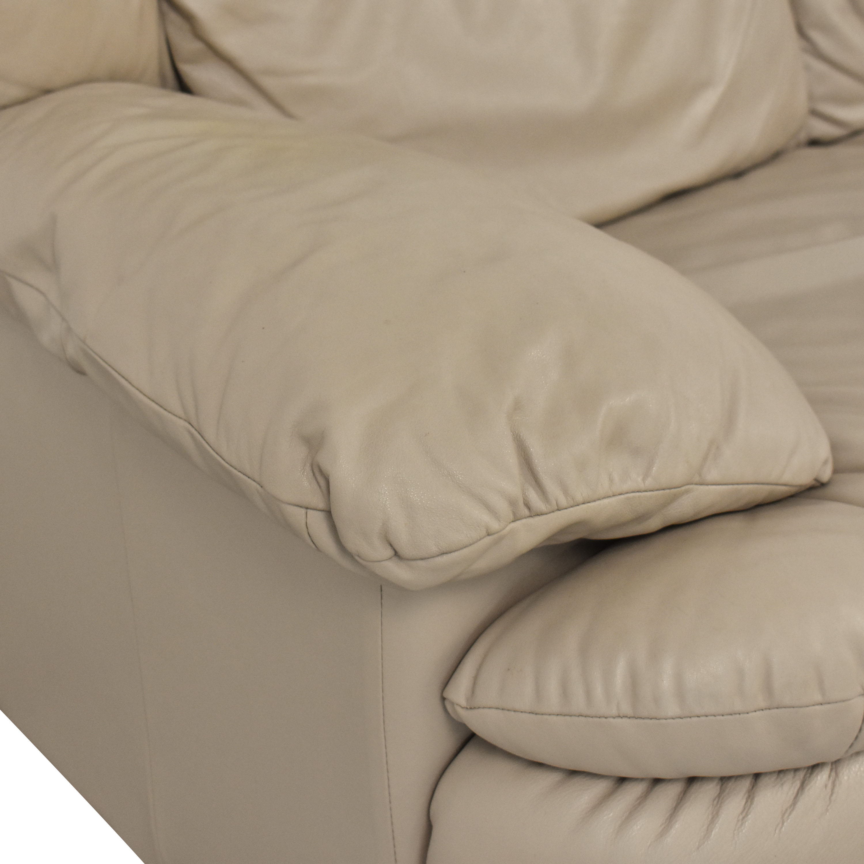 Natuzzi Natuzzi Three Cushion Sofa for sale