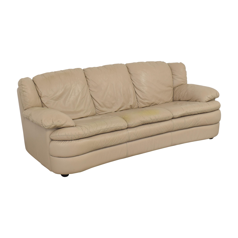 shop Natuzzi Three Cushion Sofa Natuzzi Sofas