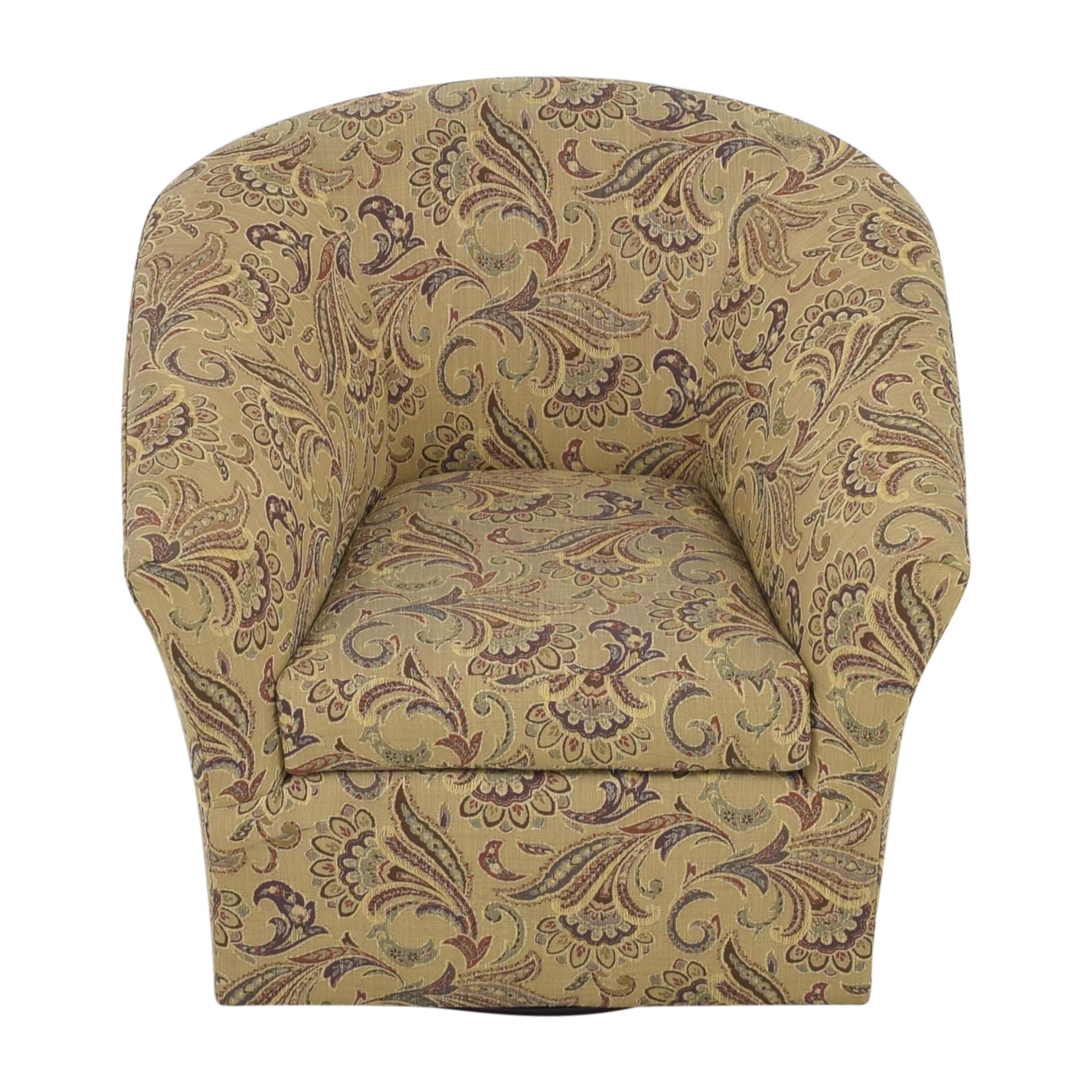 shop Hooker Furniture Sam Moore Swivel Accent Chair Hooker Furniture Accent Chairs