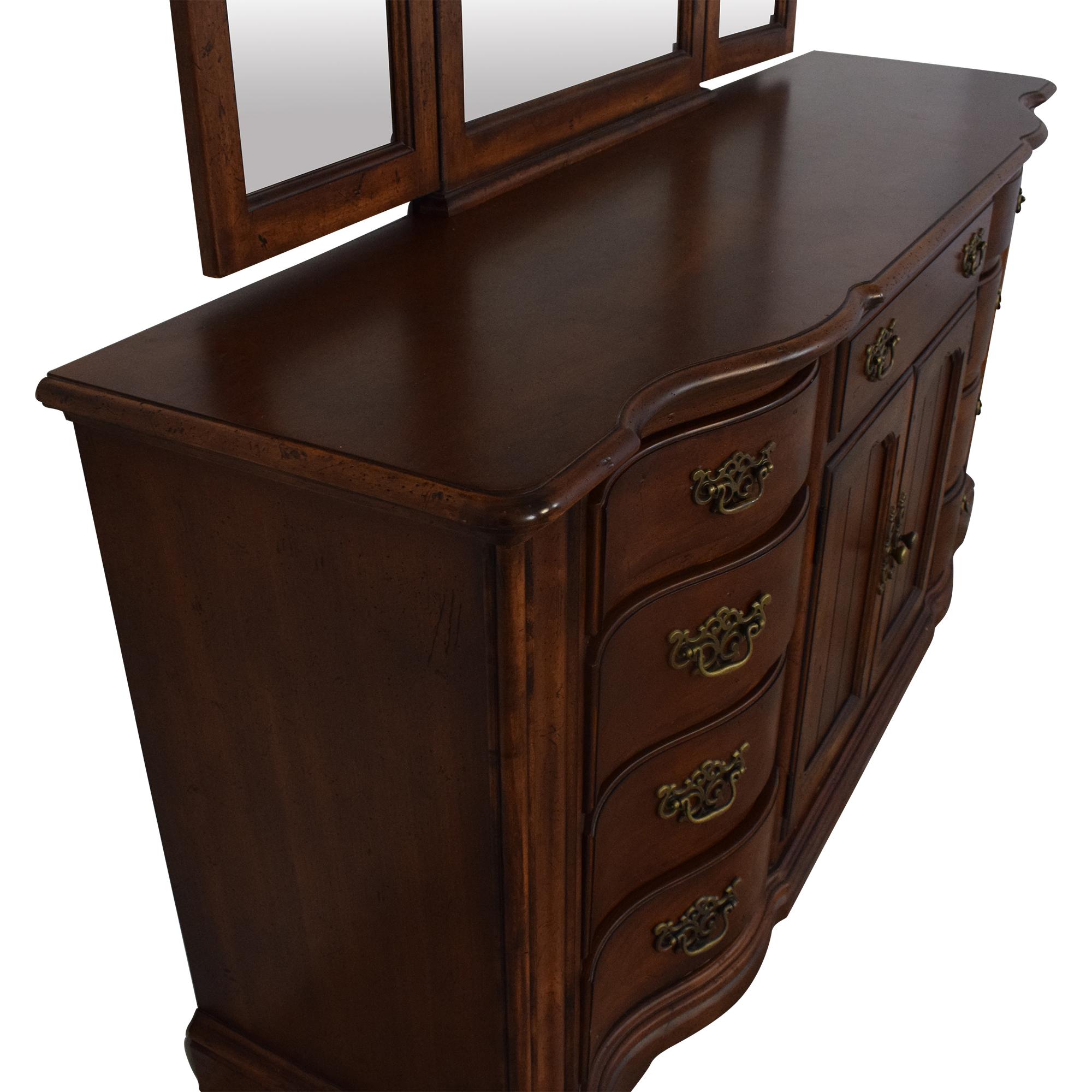 Universal Furniture Universal Furniture Dresser with Mirror on sale