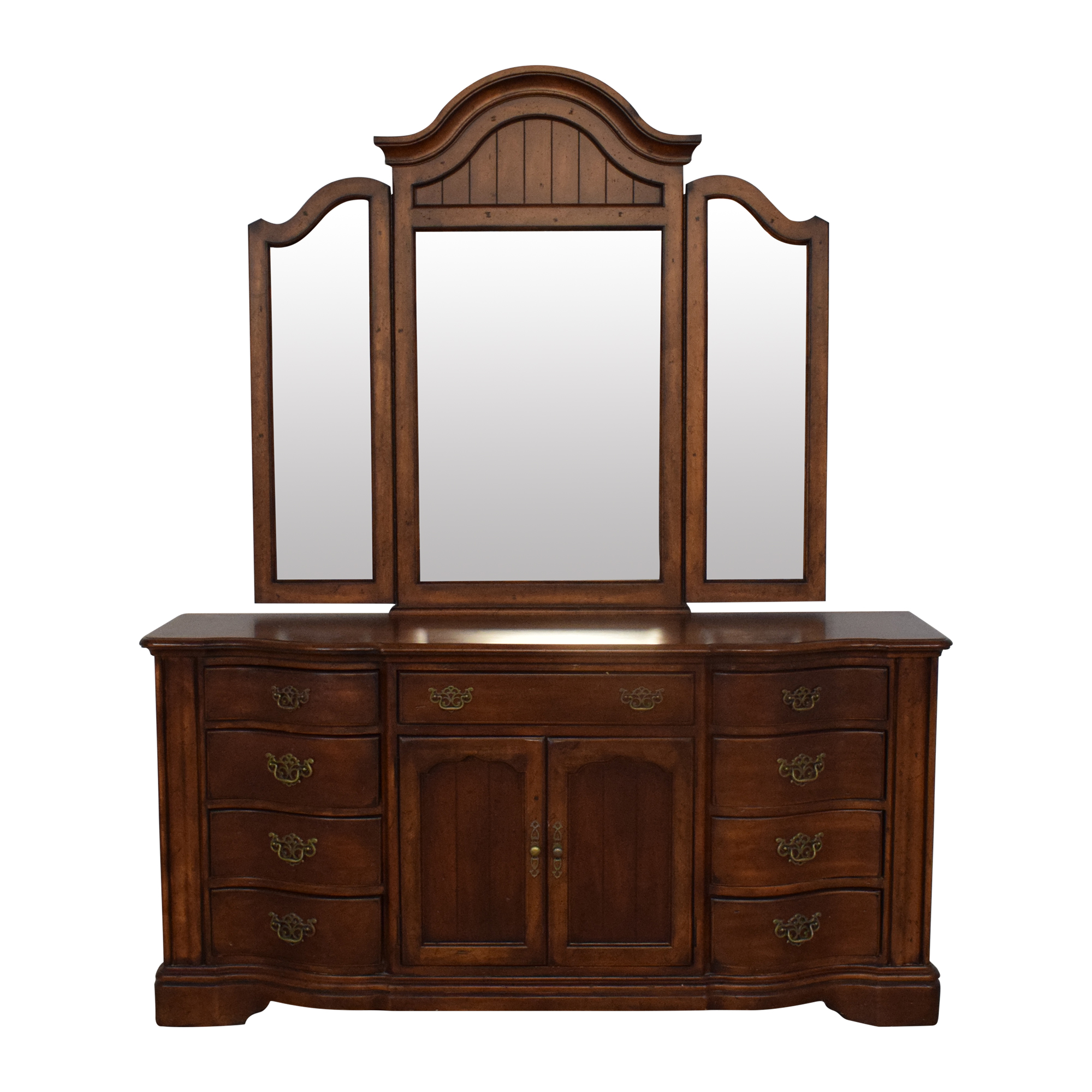 Universal Furniture Dresser with Mirror / Storage