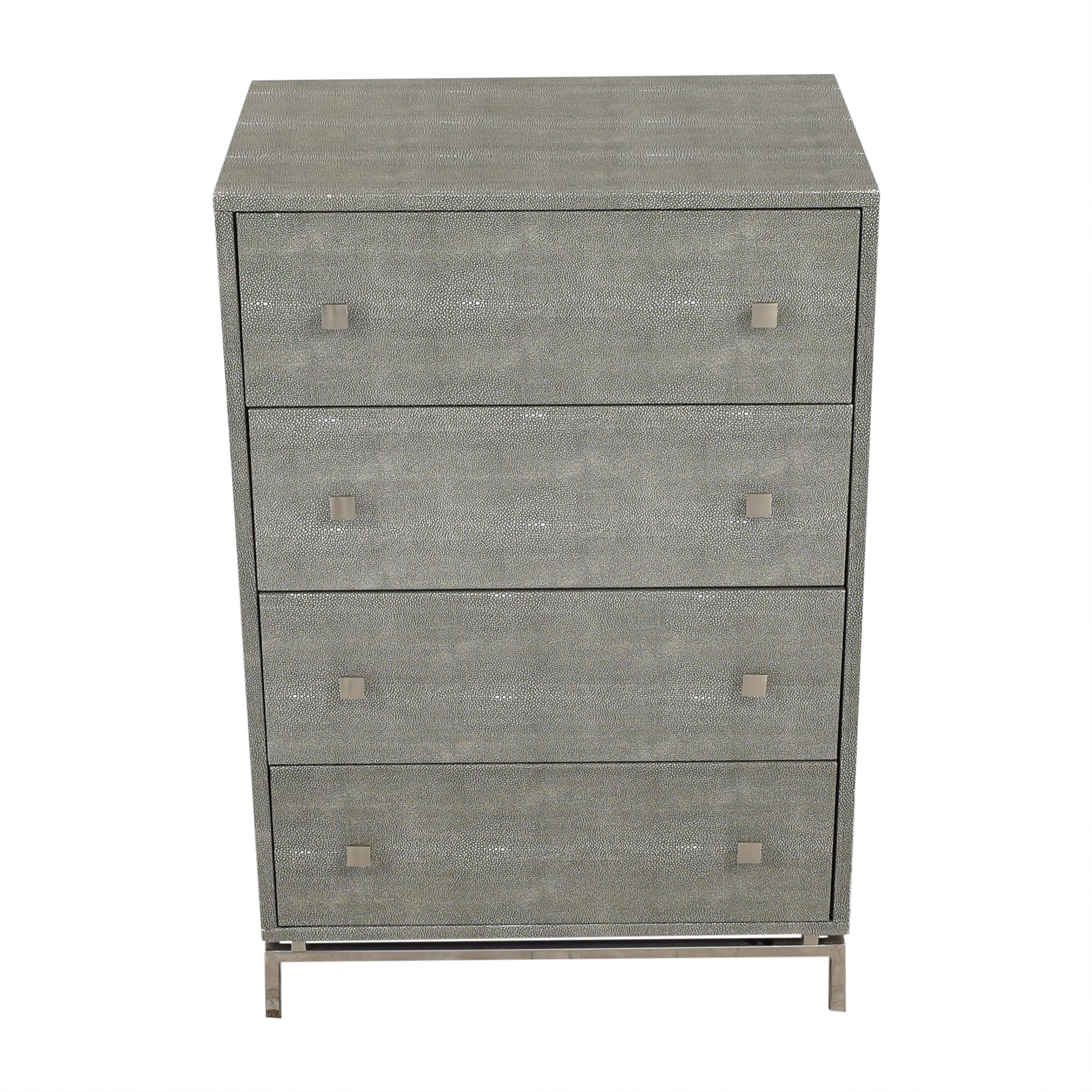 CB2 CB2 Shagreen Embossed Tall Chest ma