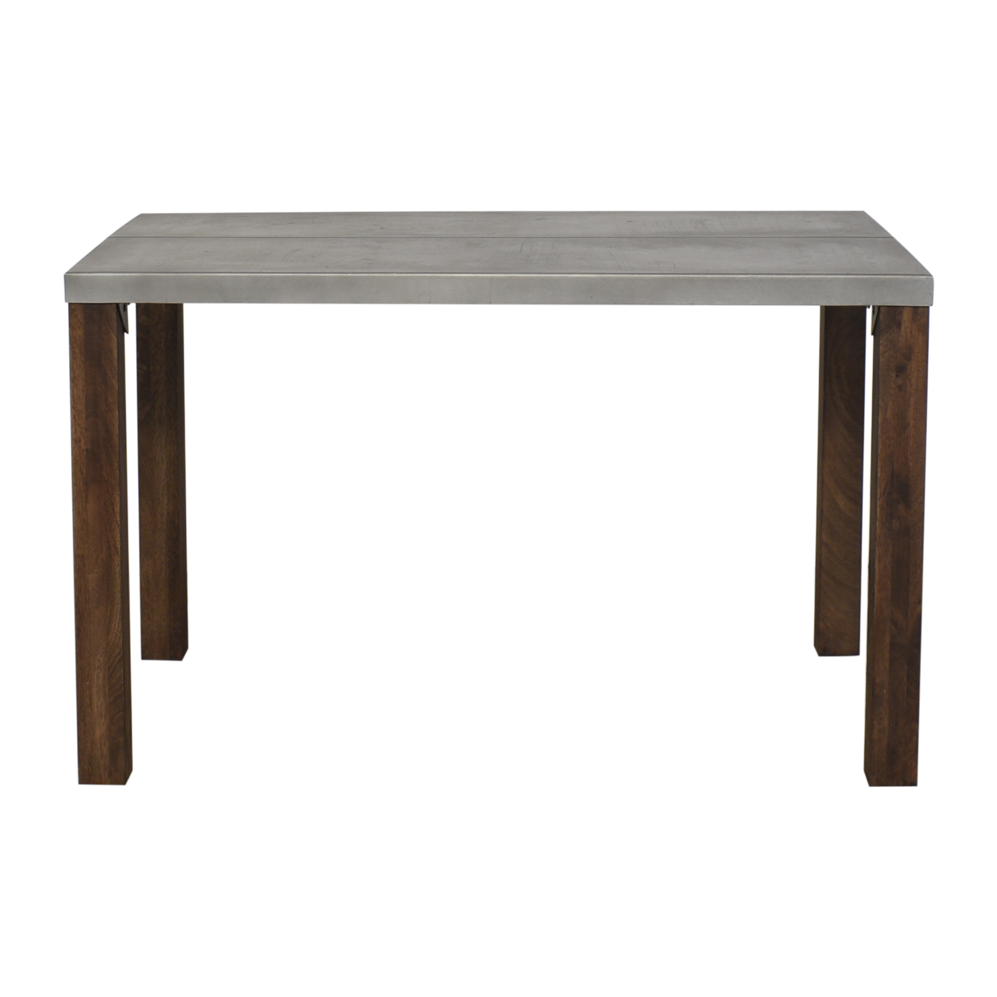 Crate & Barrel Crate & Barrel Galvin Dining Table pa