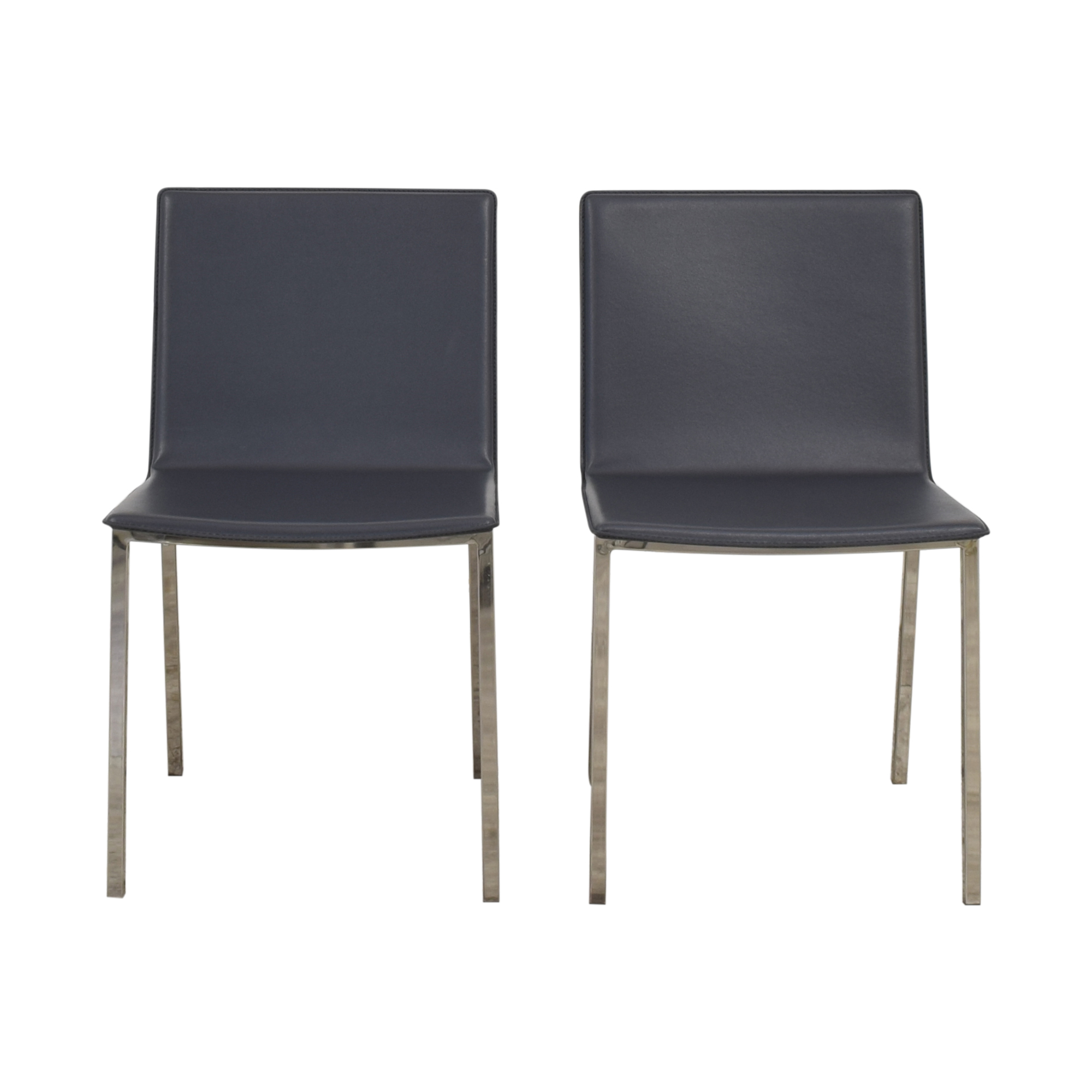 CB2 CB2 Phoenix Carbon Grey Chairs price