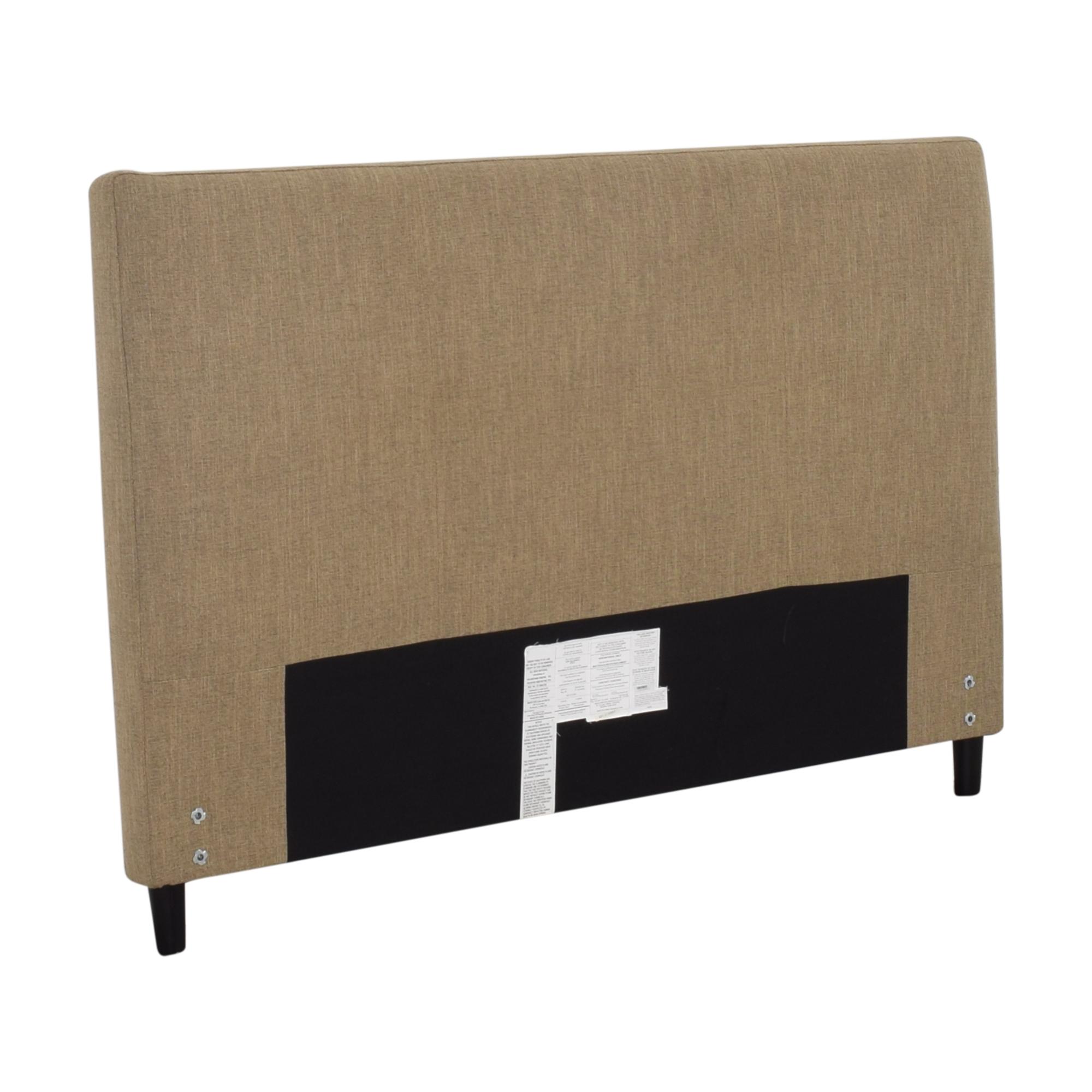 Crate & Barrel Crate & Barrel Lowe Upholstered Queen Headboard ct