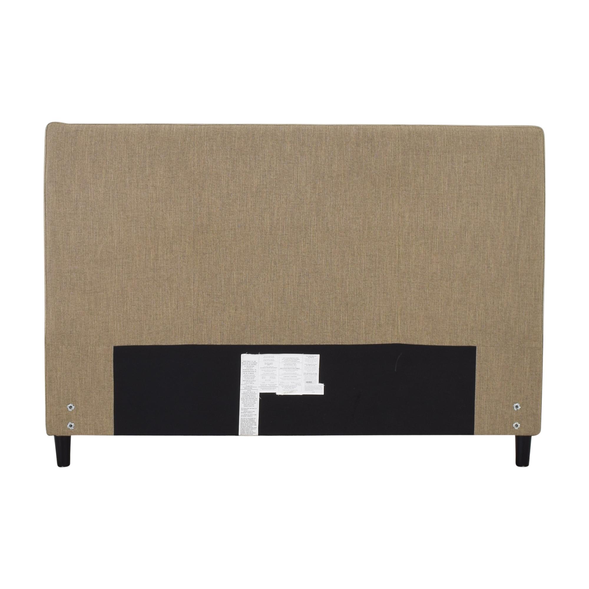 Crate & Barrel Crate & Barrel Lowe Upholstered Queen Headboard coupon