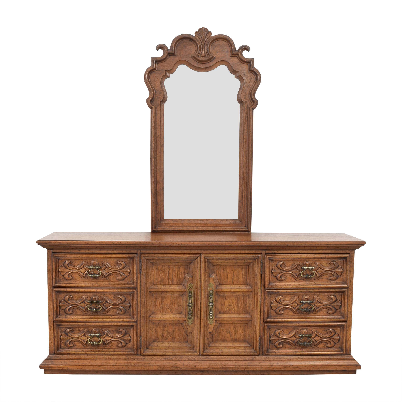 Drexel Drexel Bedroom Bureau with Mirror for sale