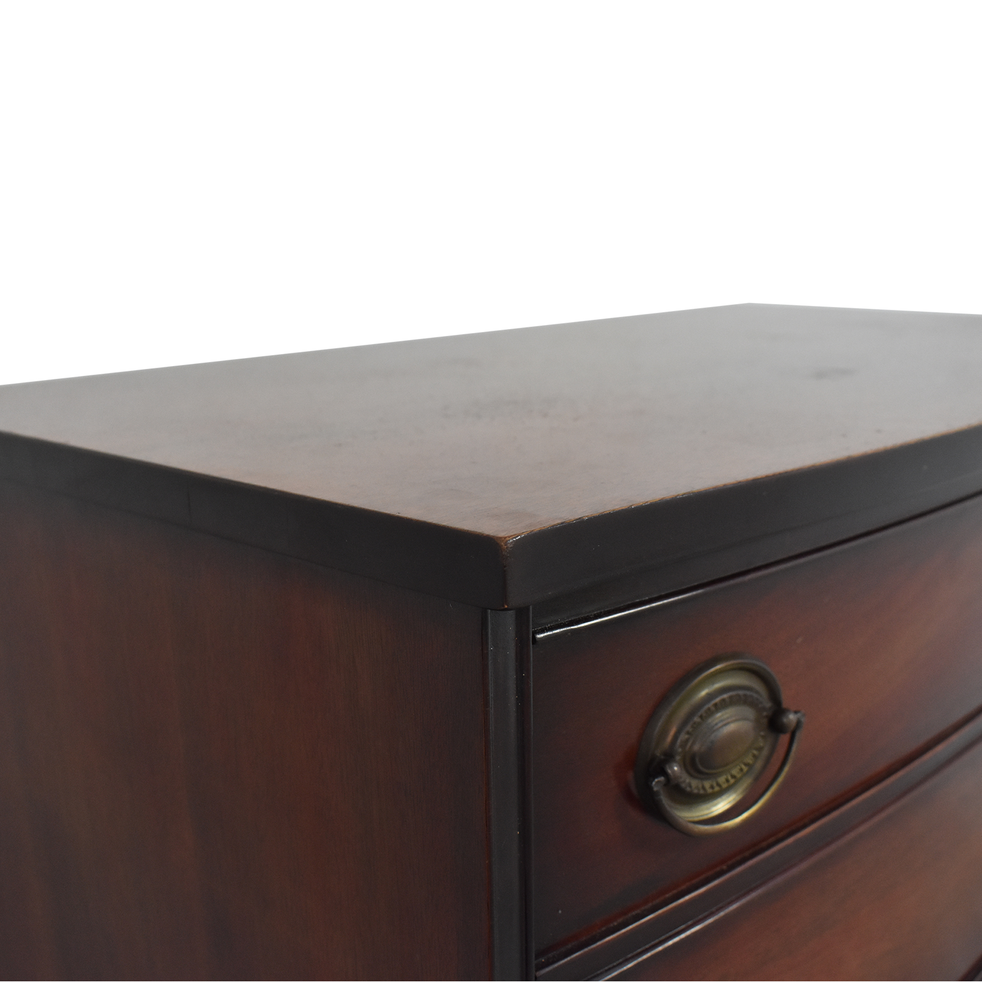 Campaign Style Six Drawer Highboy discount