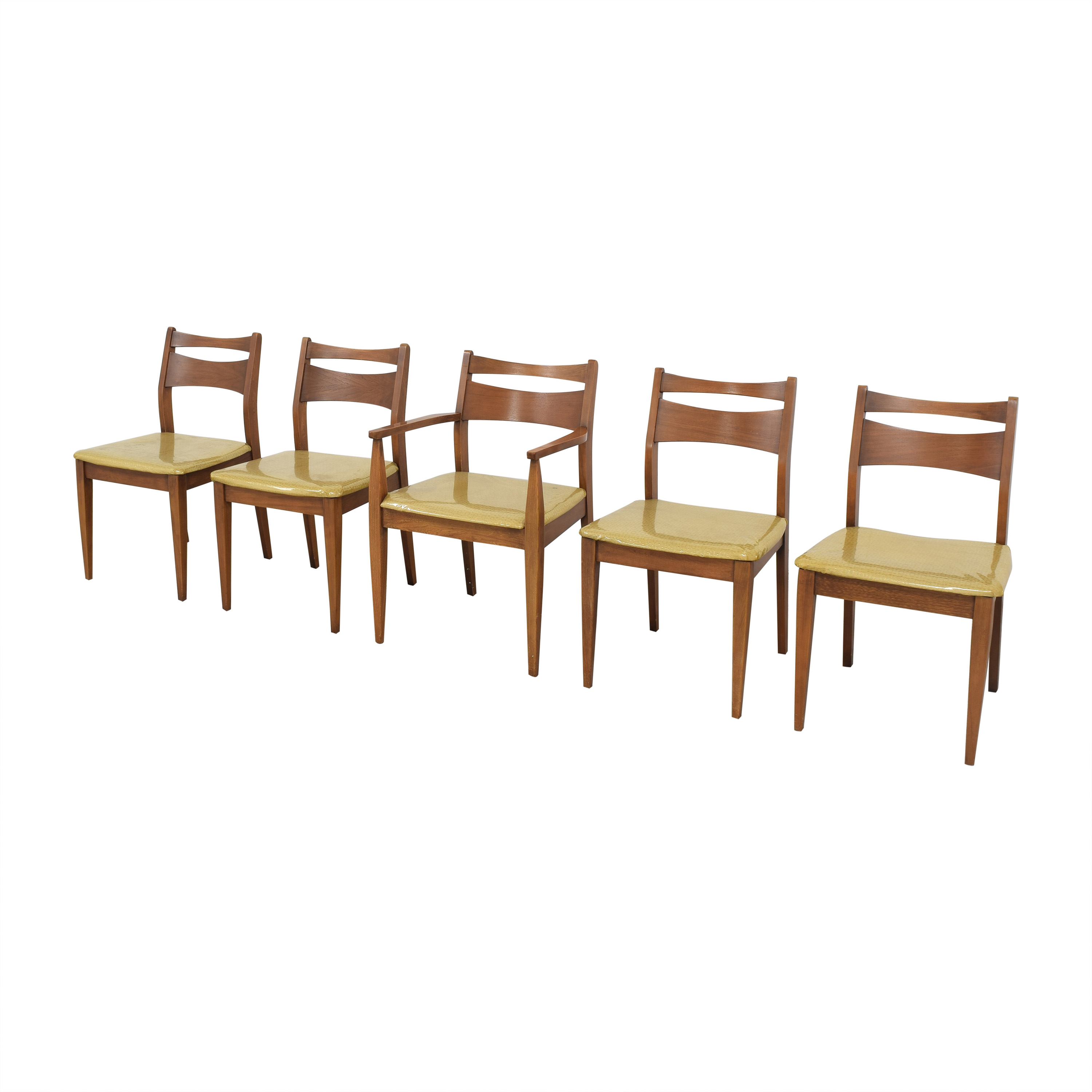 65 Off Vintage Mid Century Modern Dining Chairs