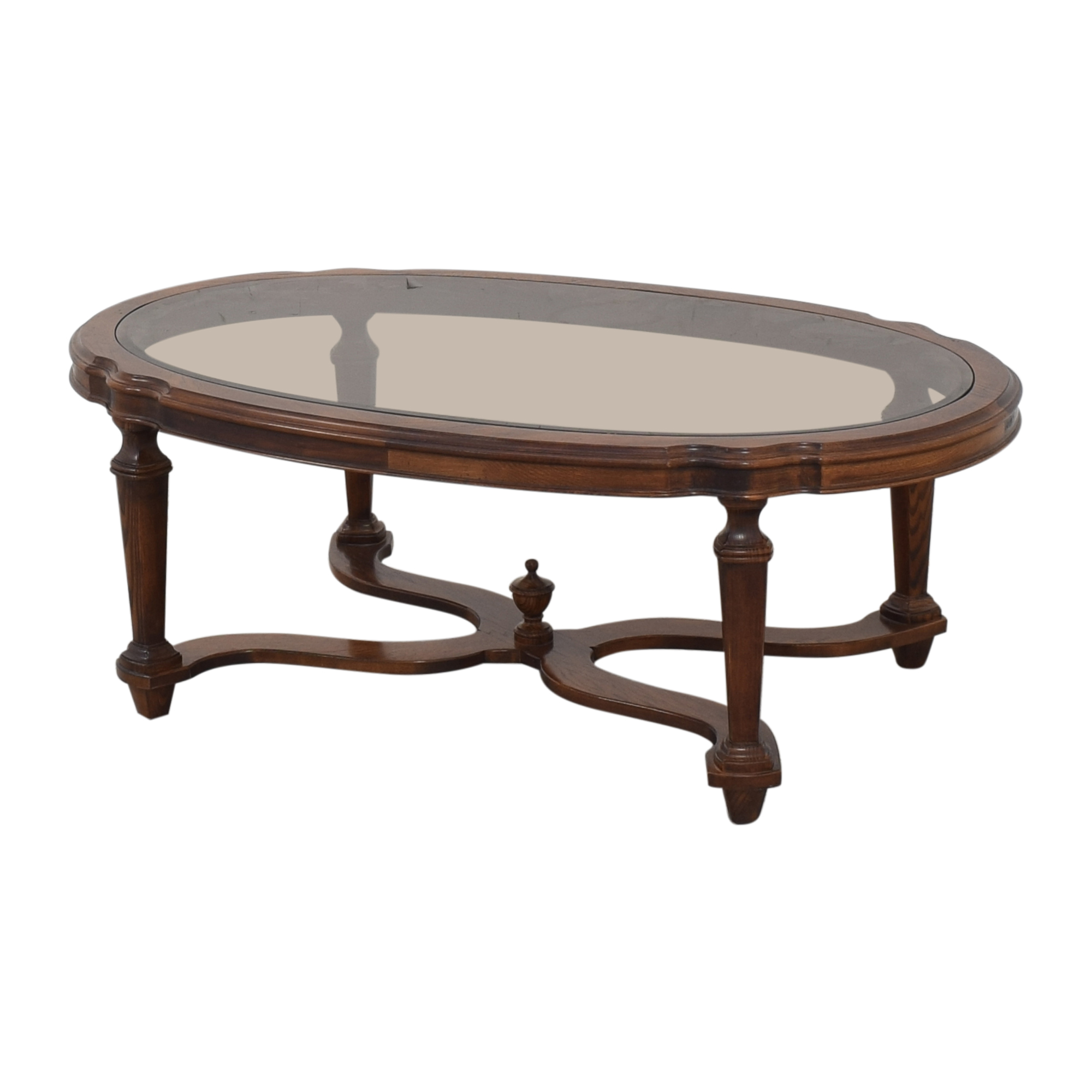 Ethan Allen Ethan Allen Vintage Coffee Table discount