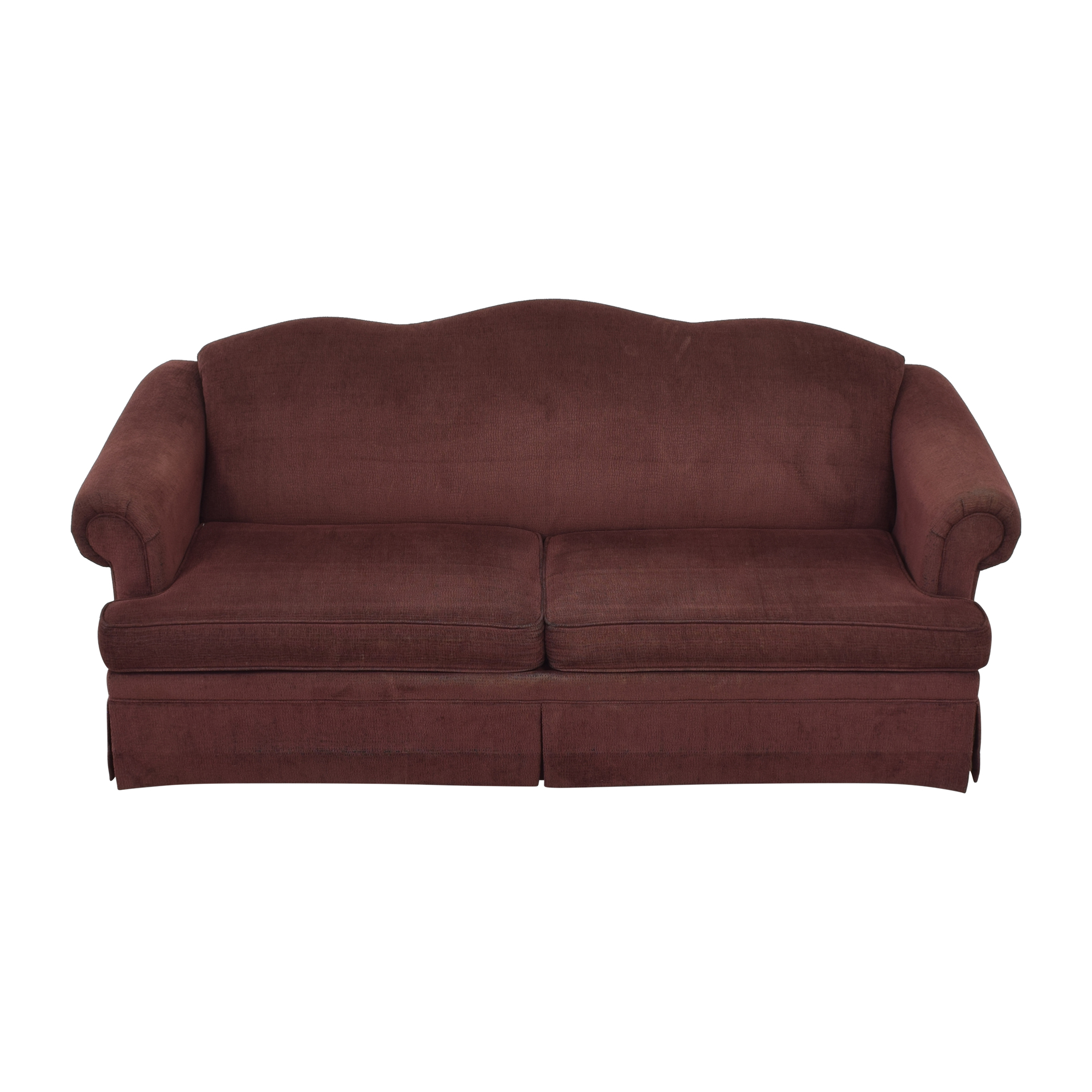 shop Flexsteel Rolled Arm Sofa Flexsteel