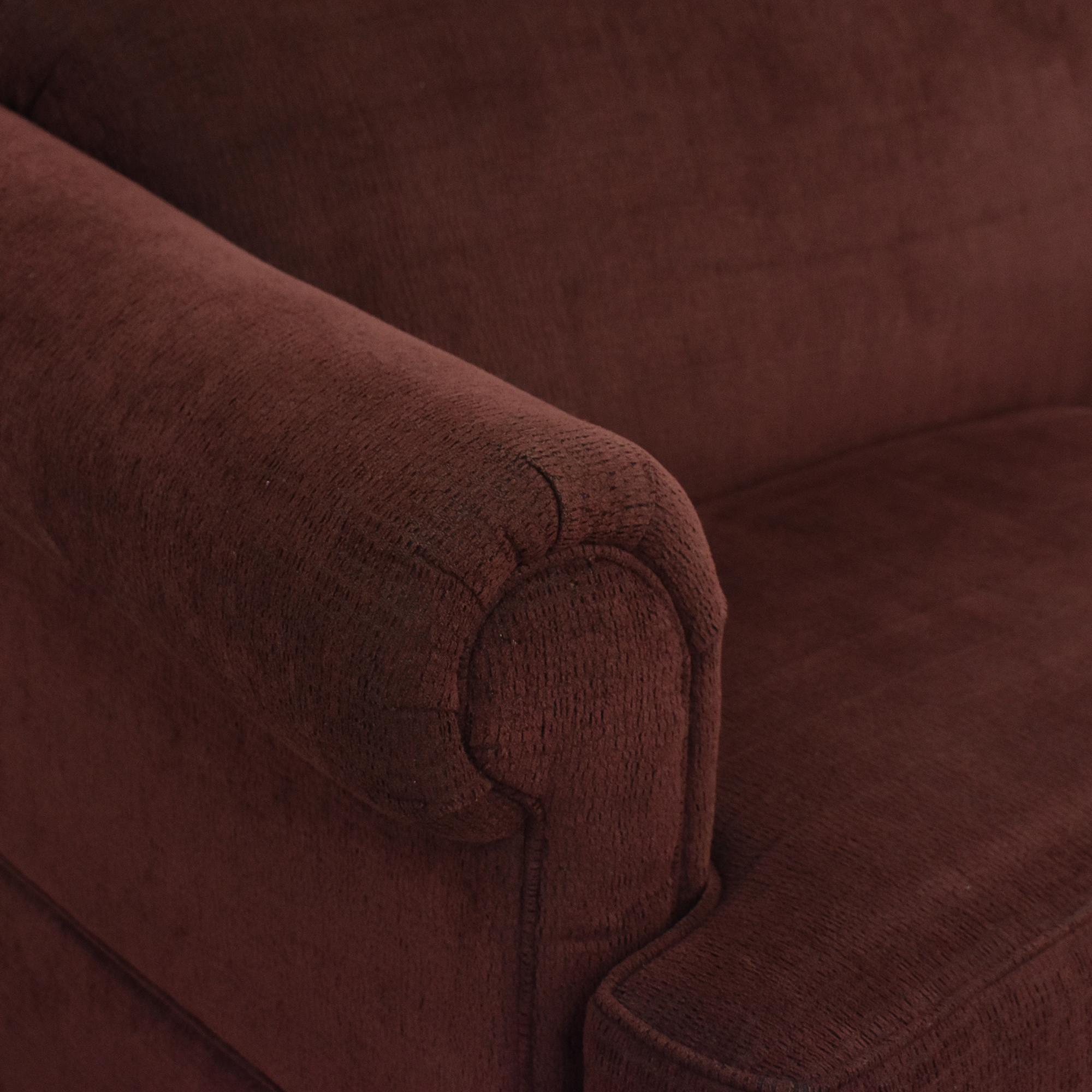 Flexsteel Flexsteel Rolled Arm Sofa on sale