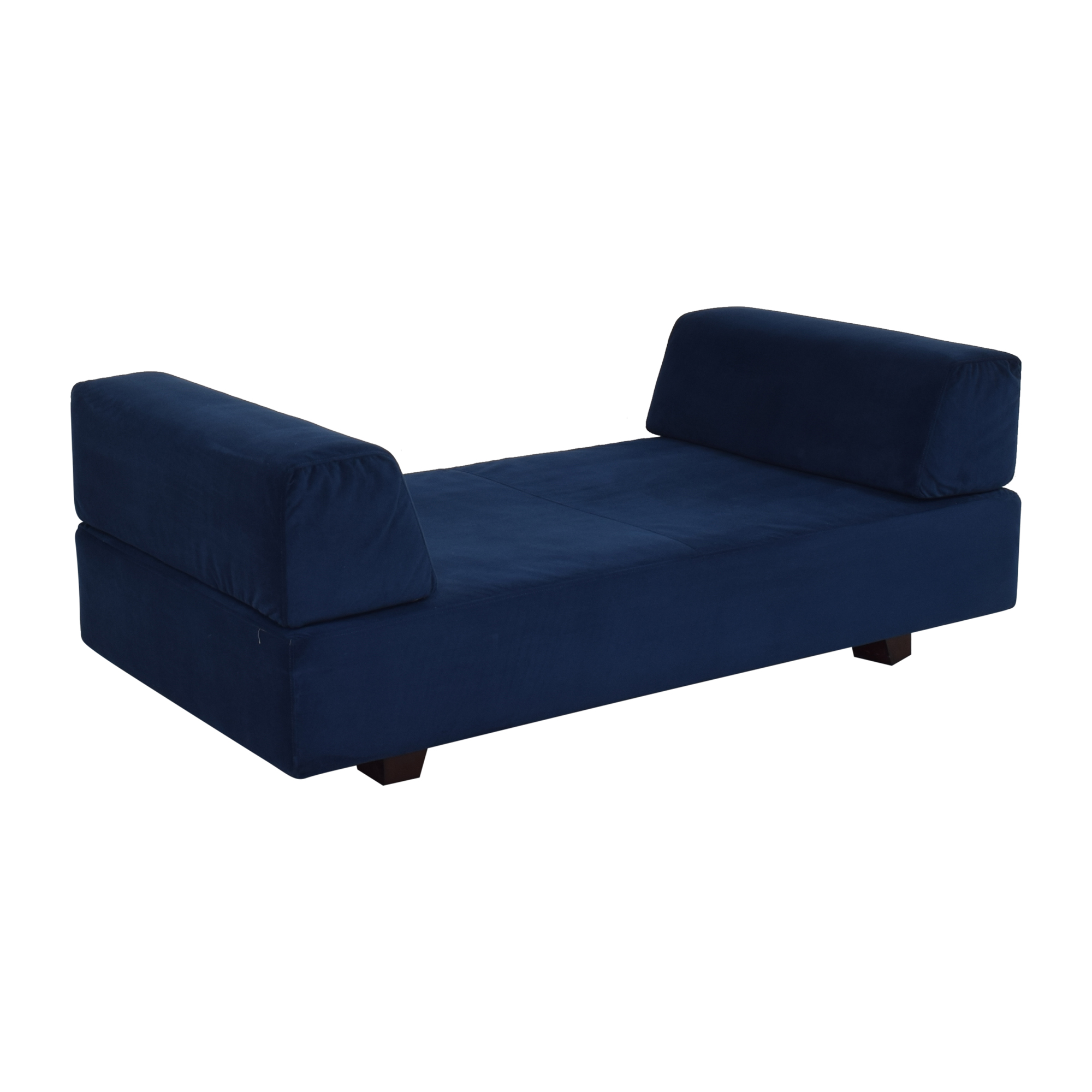 West Elm West Elm Tillary Sofa blue