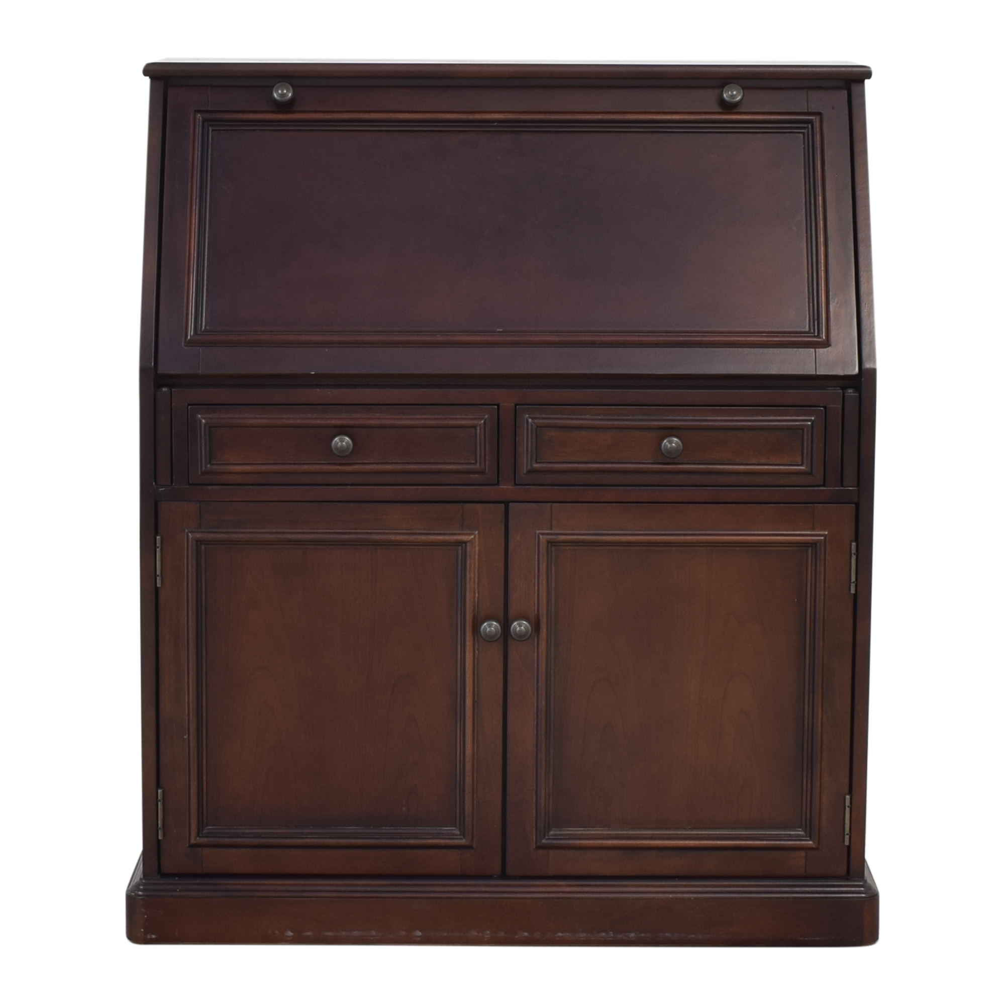 shop Raymour & Flanigan Jennings Laptop Desk Armoire Raymour & Flanigan Wardrobes & Armoires