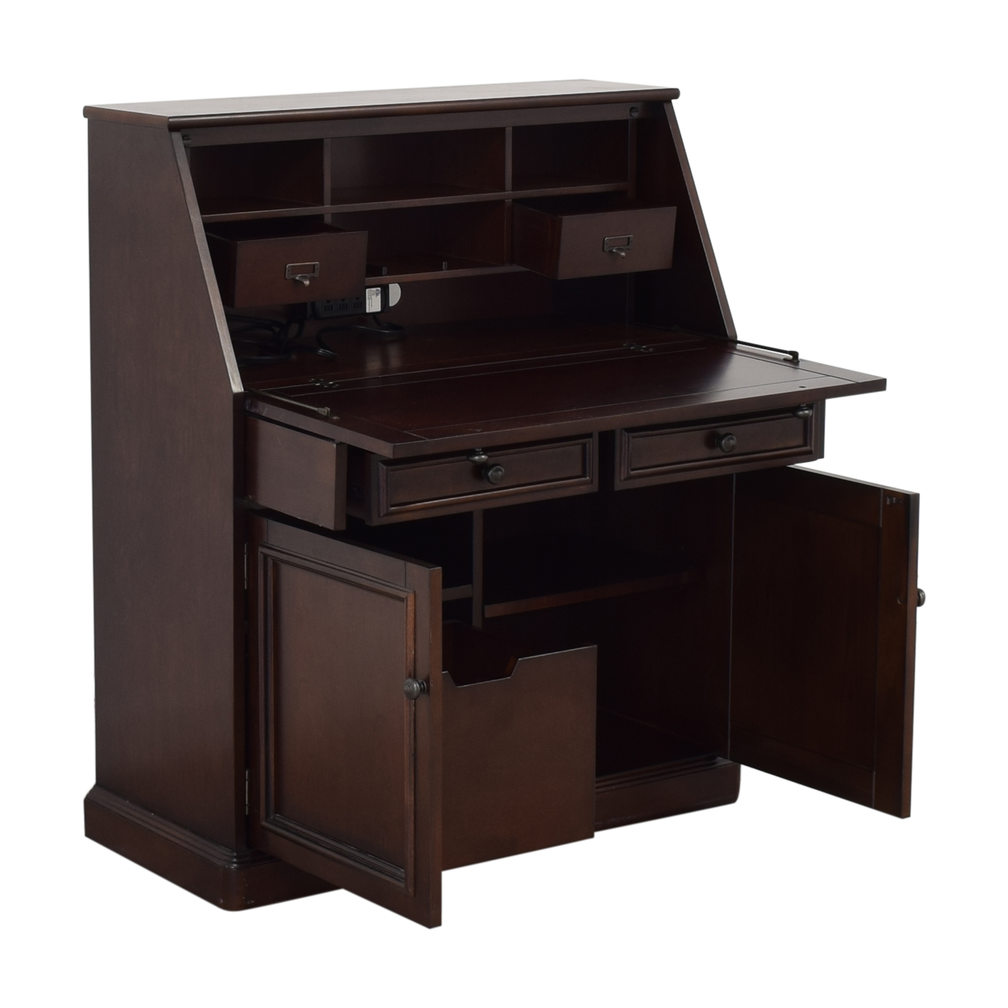 27 Off Raymour Flanigan Raymour Flanigan Jennings Laptop Desk Armoire Storage