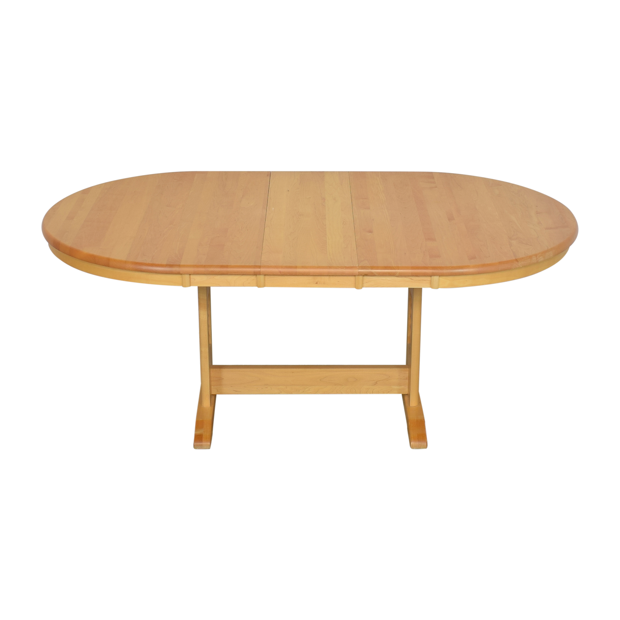 Oval Extending Dining Table on sale