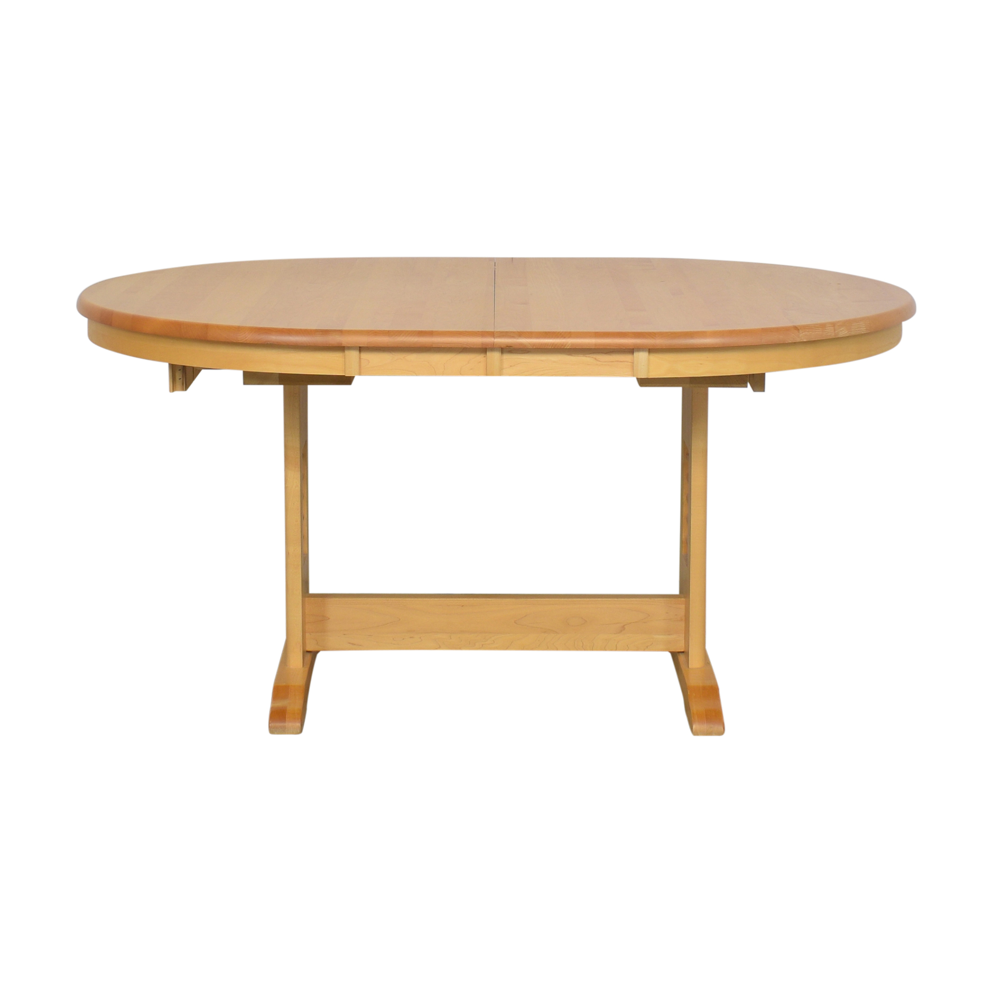 shop Oval Extending Dining Table  Tables