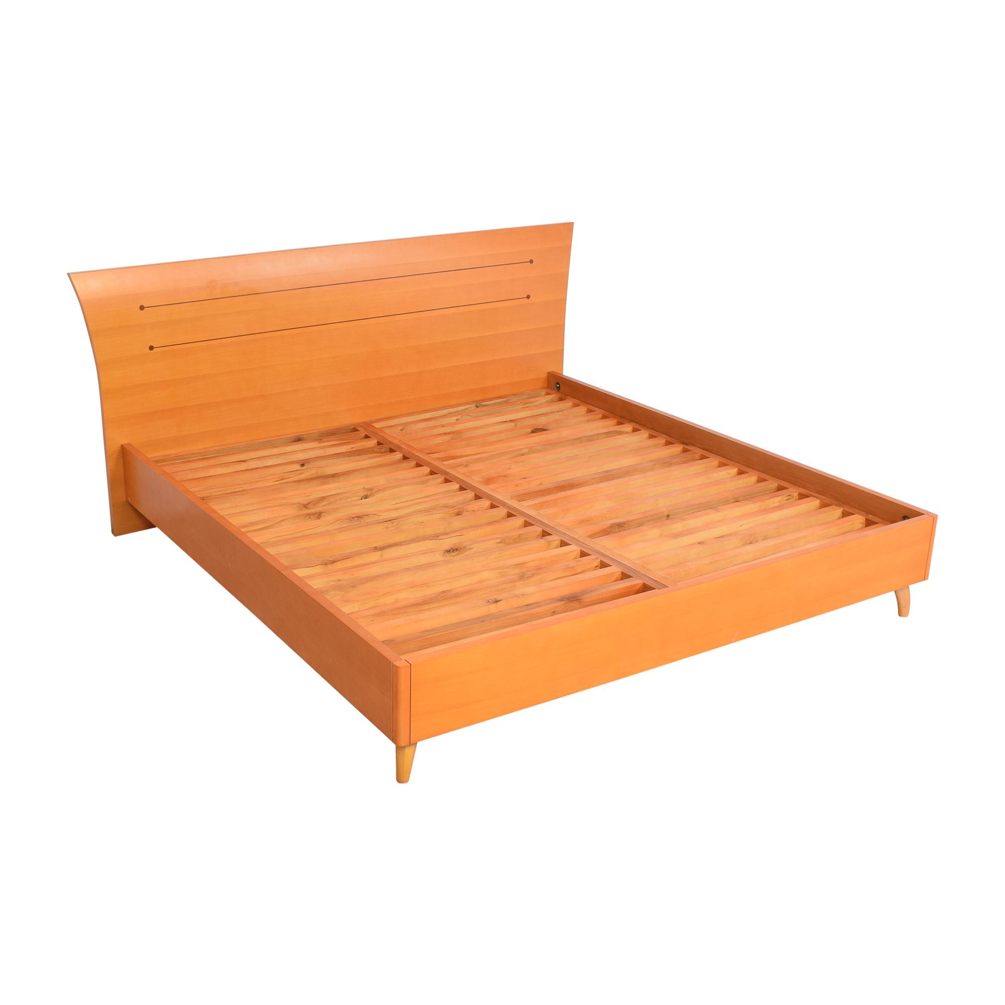Modern Italian King Bed Frame