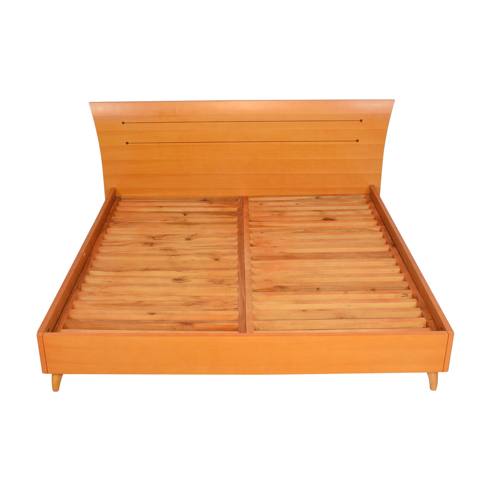 Modern Italian King Bed Frame / Bed Frames