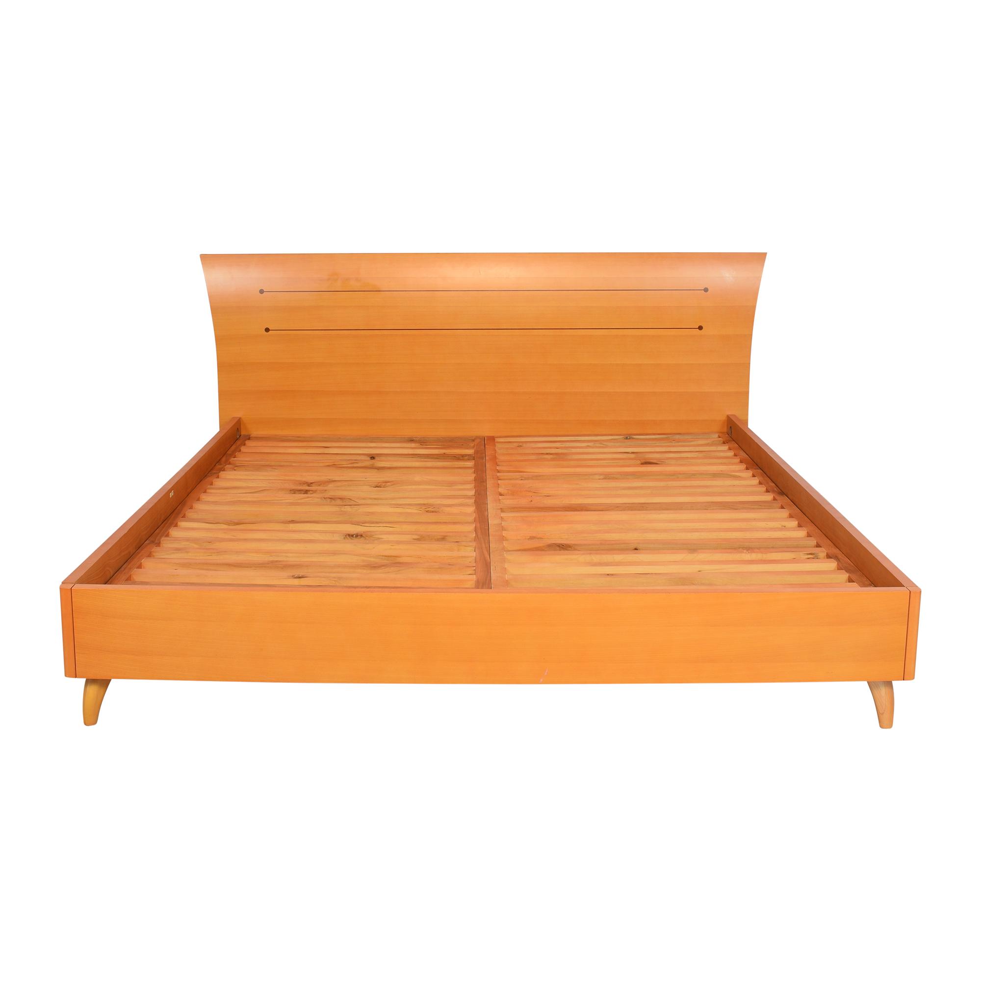 Modern Italian King Bed Frame nyc