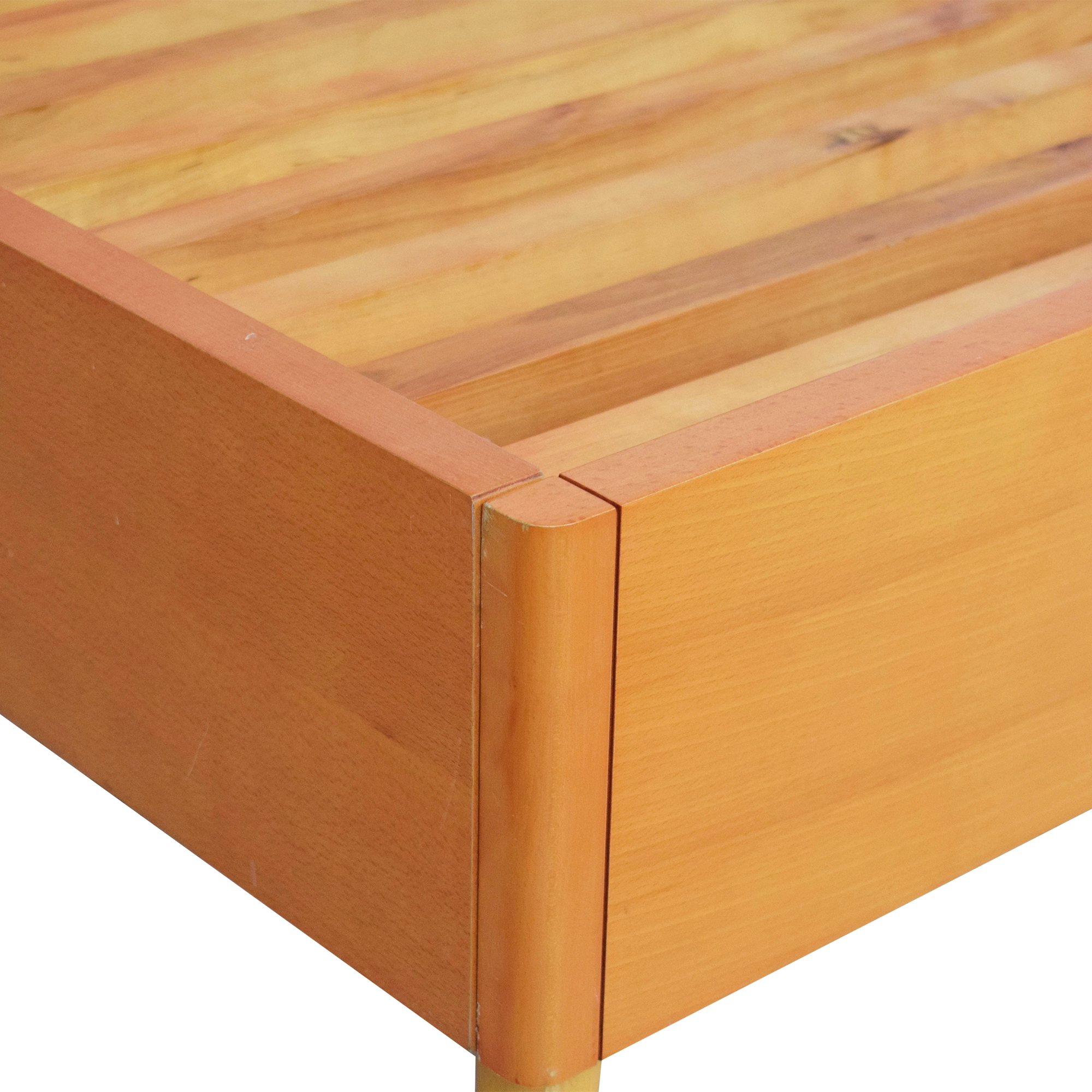 buy Modern Italian King Bed Frame  Beds