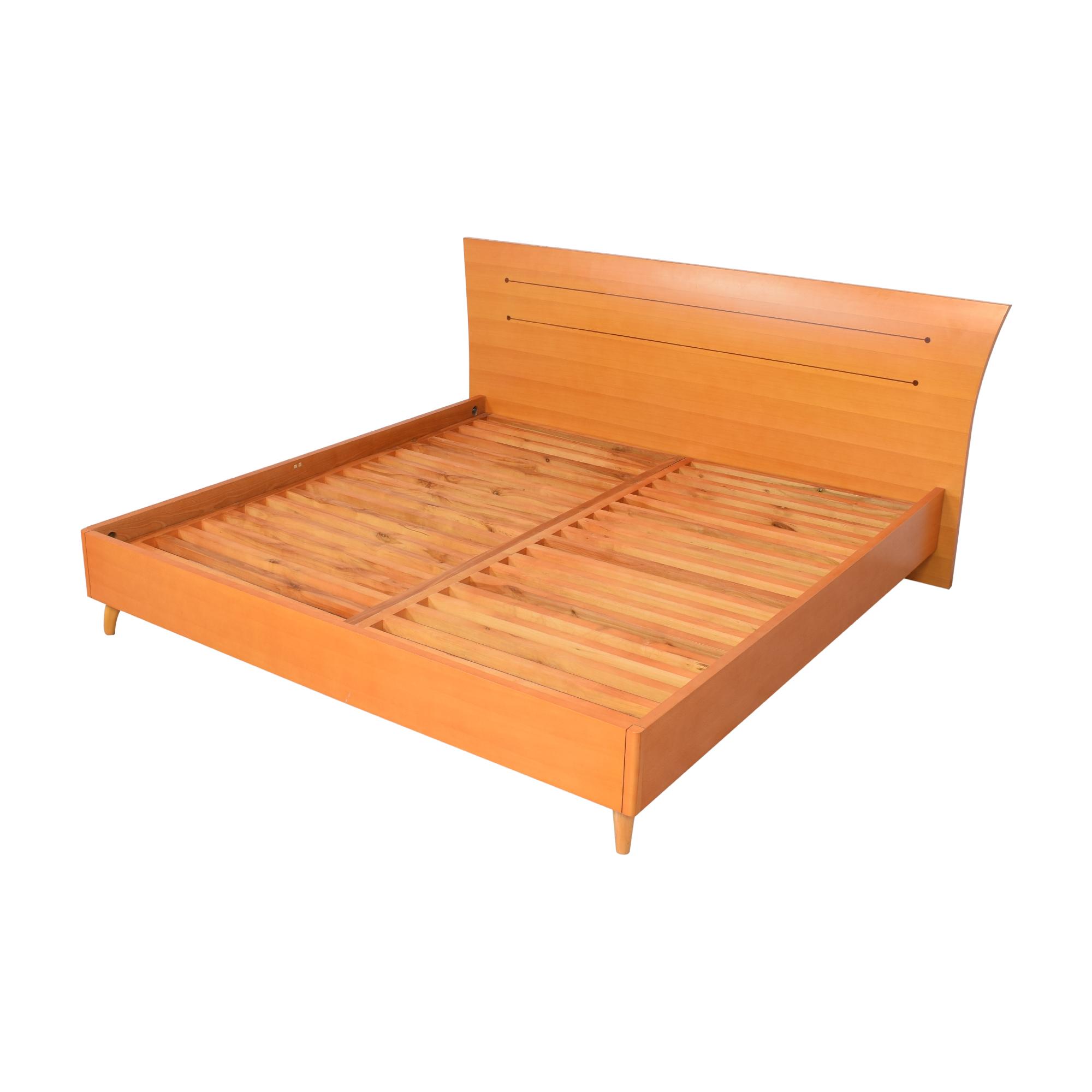 Modern Italian King Bed Frame pa