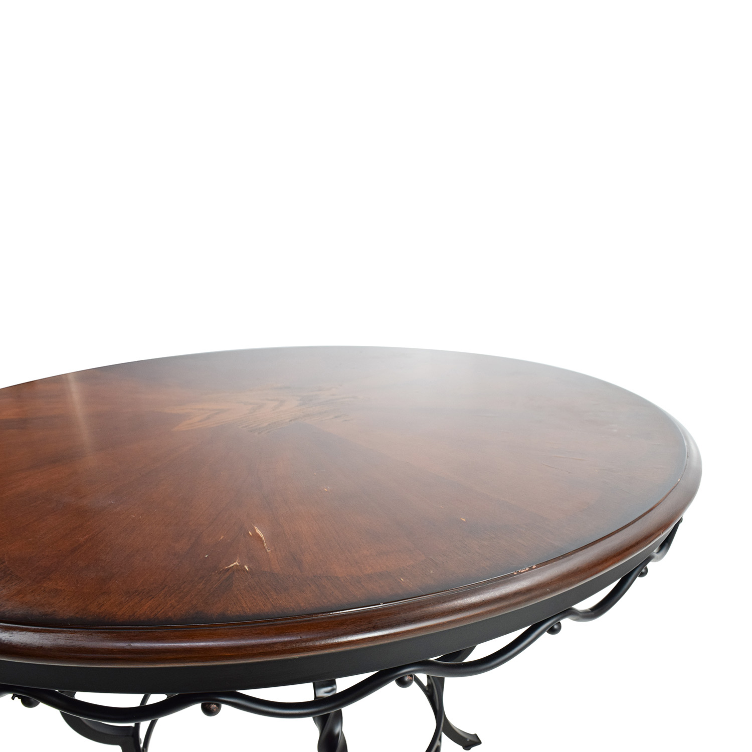 84 off ashley furniture ashley nola round dining table. Black Bedroom Furniture Sets. Home Design Ideas