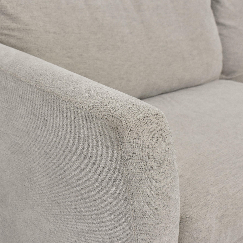 Macy's Elliot II Fabric Sofa sale