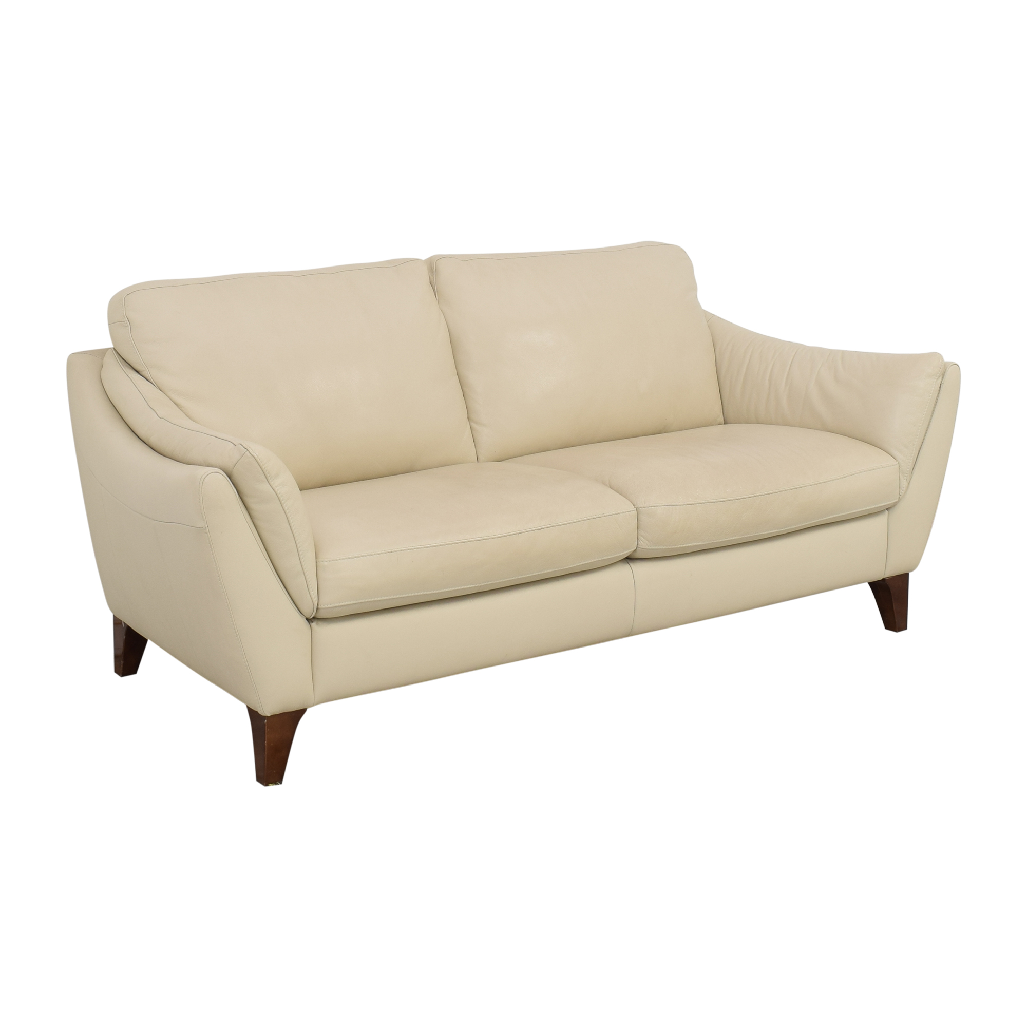 - 57% OFF - Italsofa Greccio Leather Sofa / Sofas