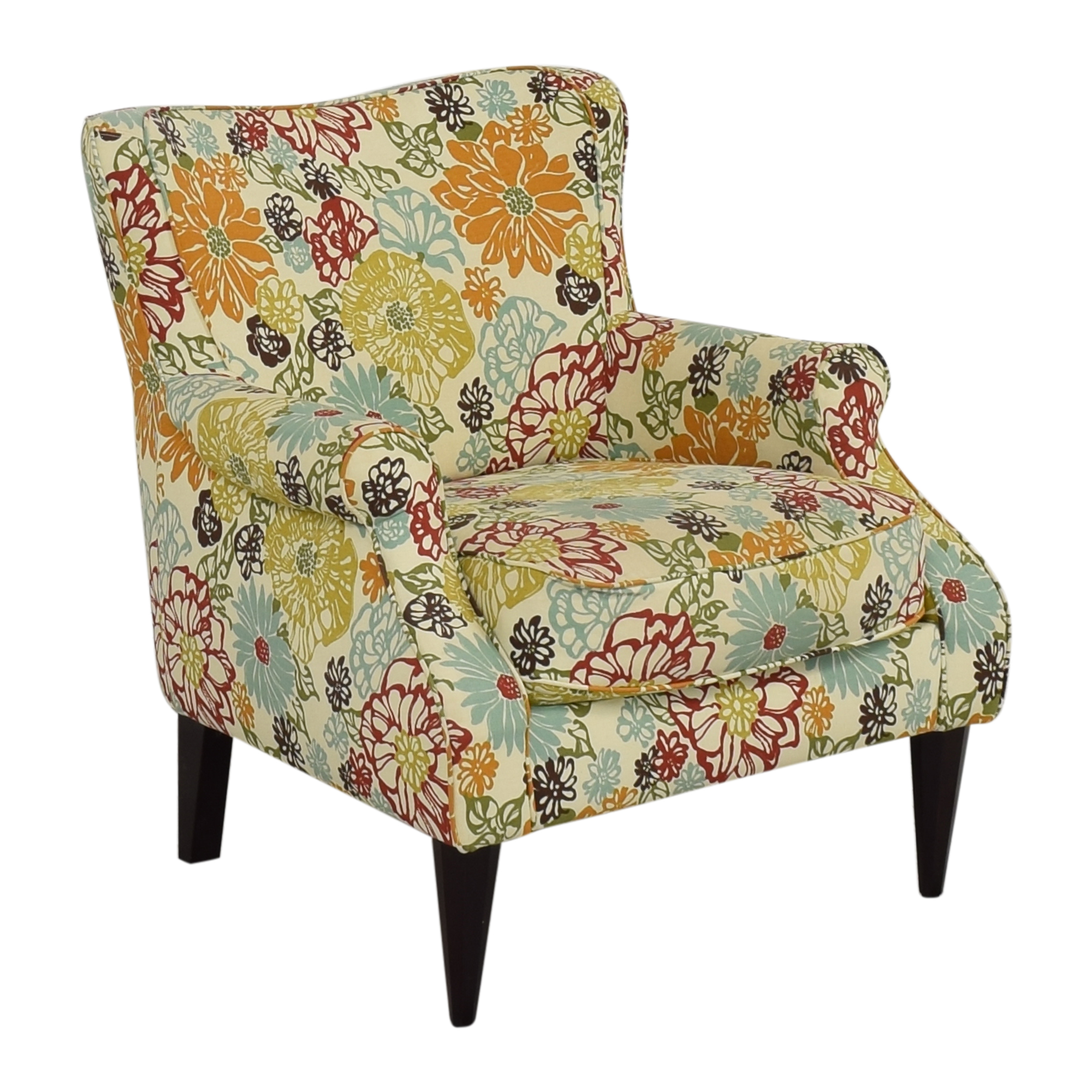 shop Raymour & Flanigan Emelen Accent Chair Raymour & Flanigan Accent Chairs