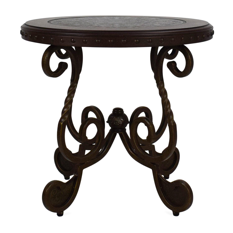 Ashley Furniture Ashley Rafferty Round End Table End Tables ...