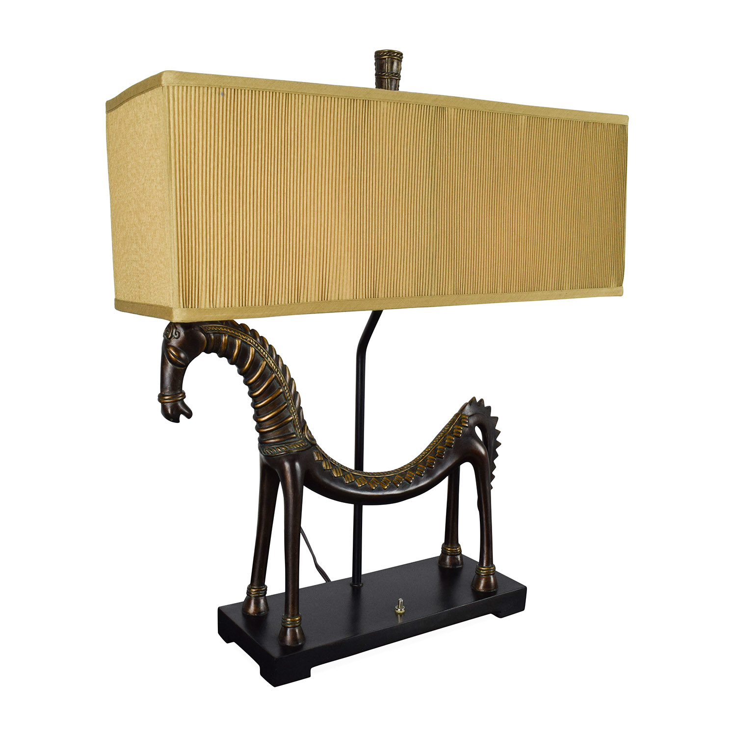 Finest 21% OFF - Uttermost Uttermost Tamil Horse Table Lamp / Decor TE49