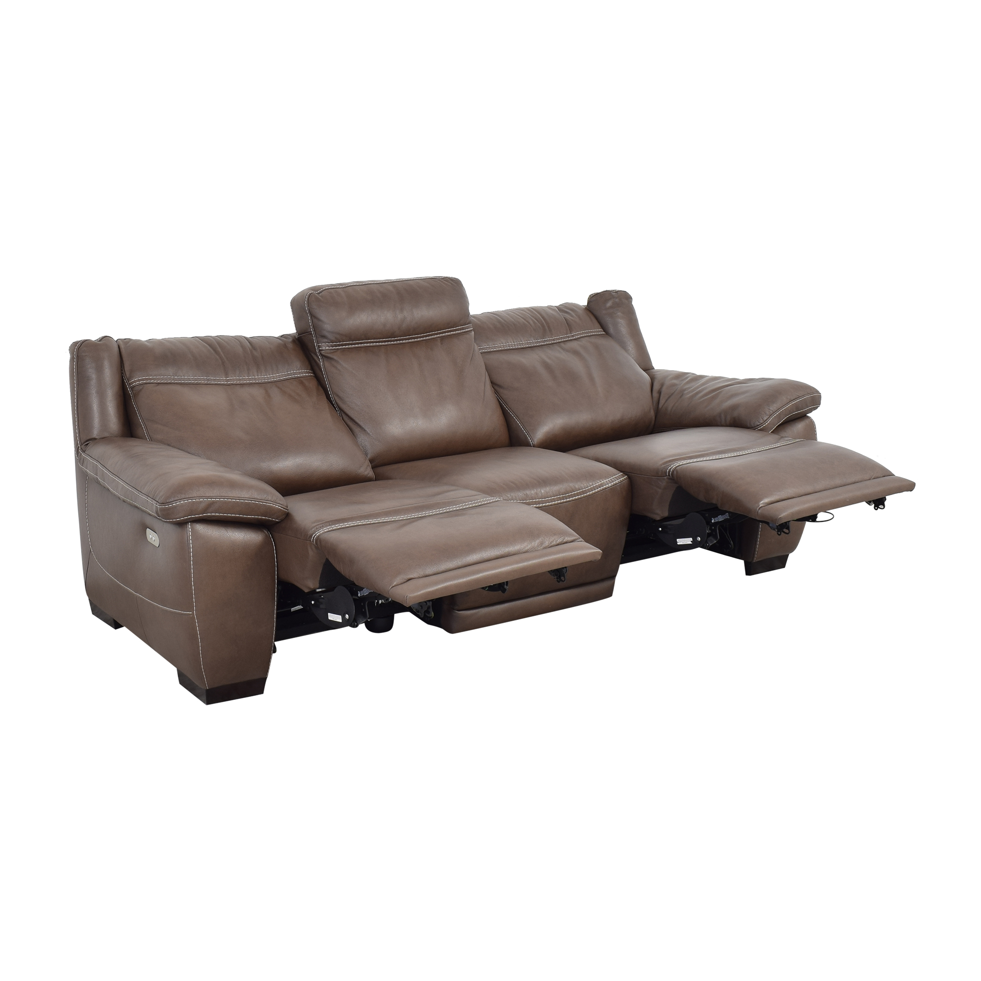Raymour & Flanigan Raymour & Flanigan Sofa with Two Recliners nyc