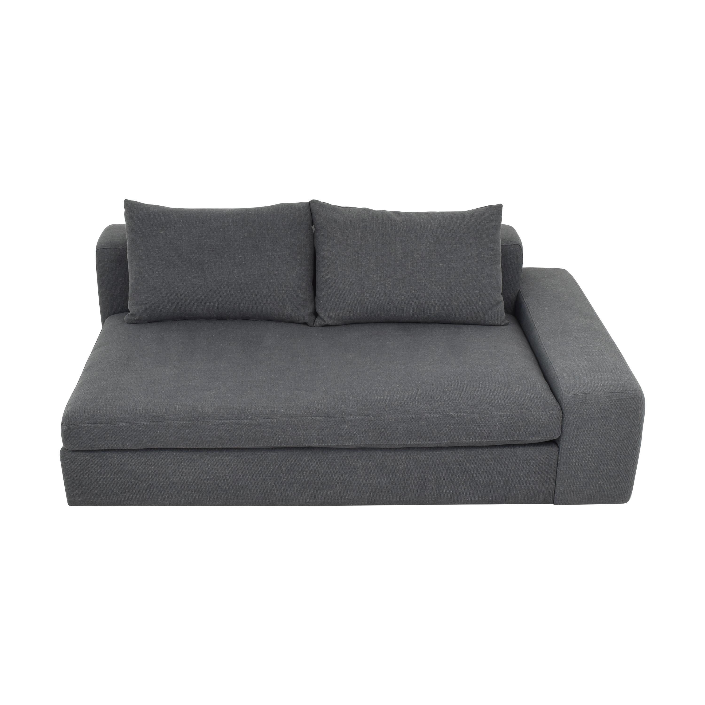 CB2 CB2 Arlo Wide Right Arm Sofa price