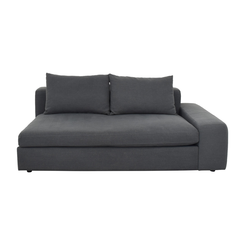 buy CB2 CB2 Arlo Wide Right Arm Sofa online