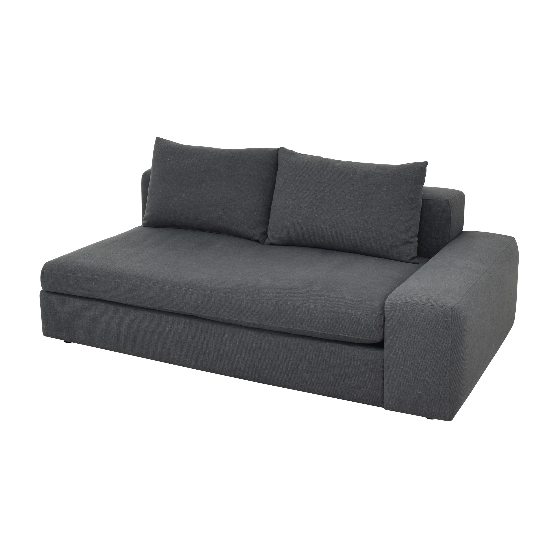 CB2 CB2 Arlo Wide Right Arm Sofa on sale