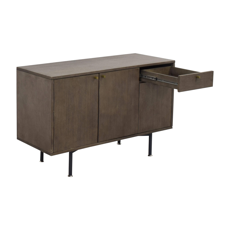 shop Crate & Barrel Modern Sideboard Crate & Barrel Storage