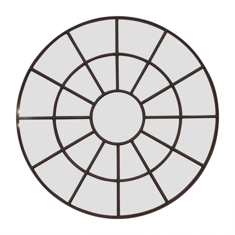 shop Restoration Hardware Restoration Hardware Round Palladian Mirror online
