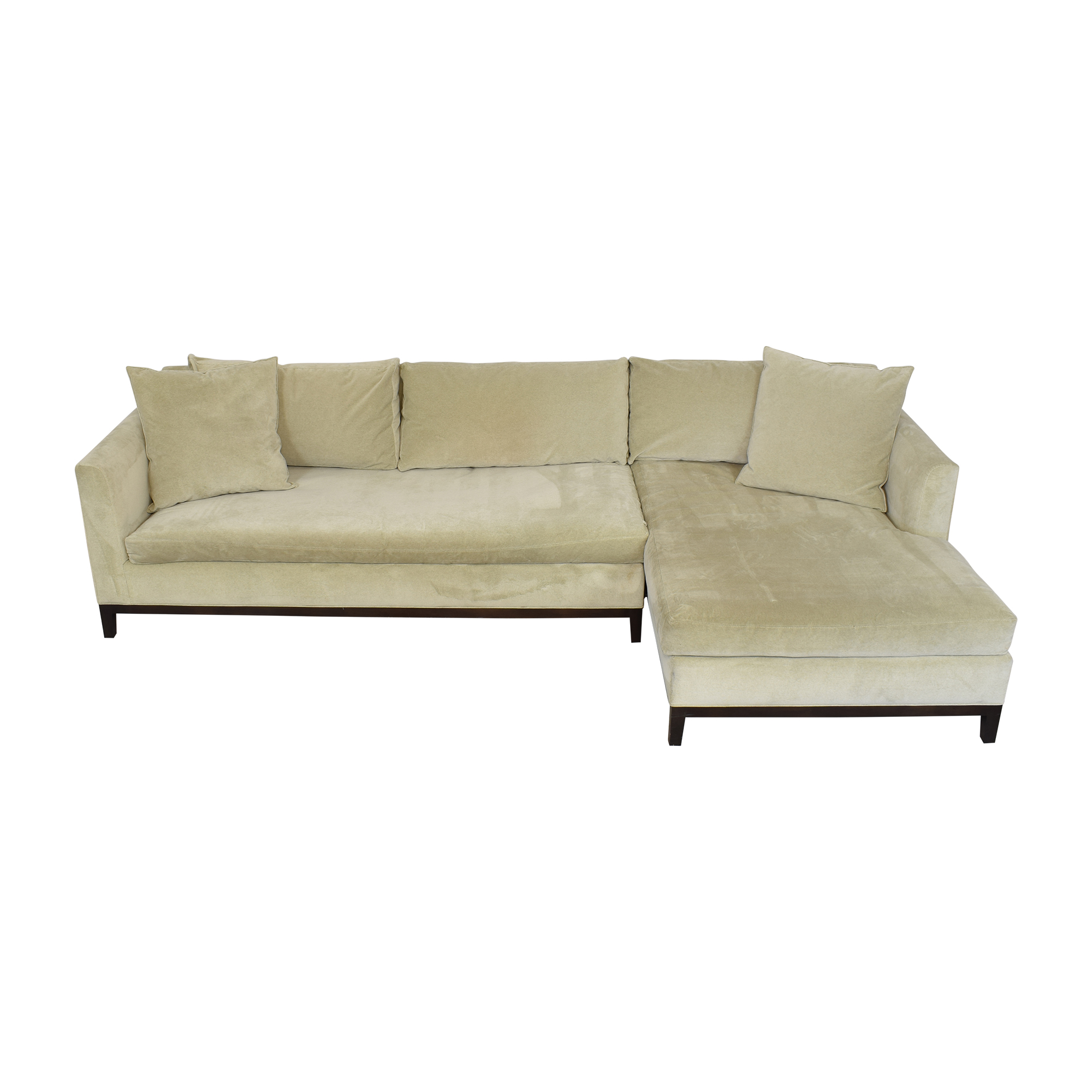 Cisco Brothers Cisco Brothers Tristan Sectional Sofa dimensions