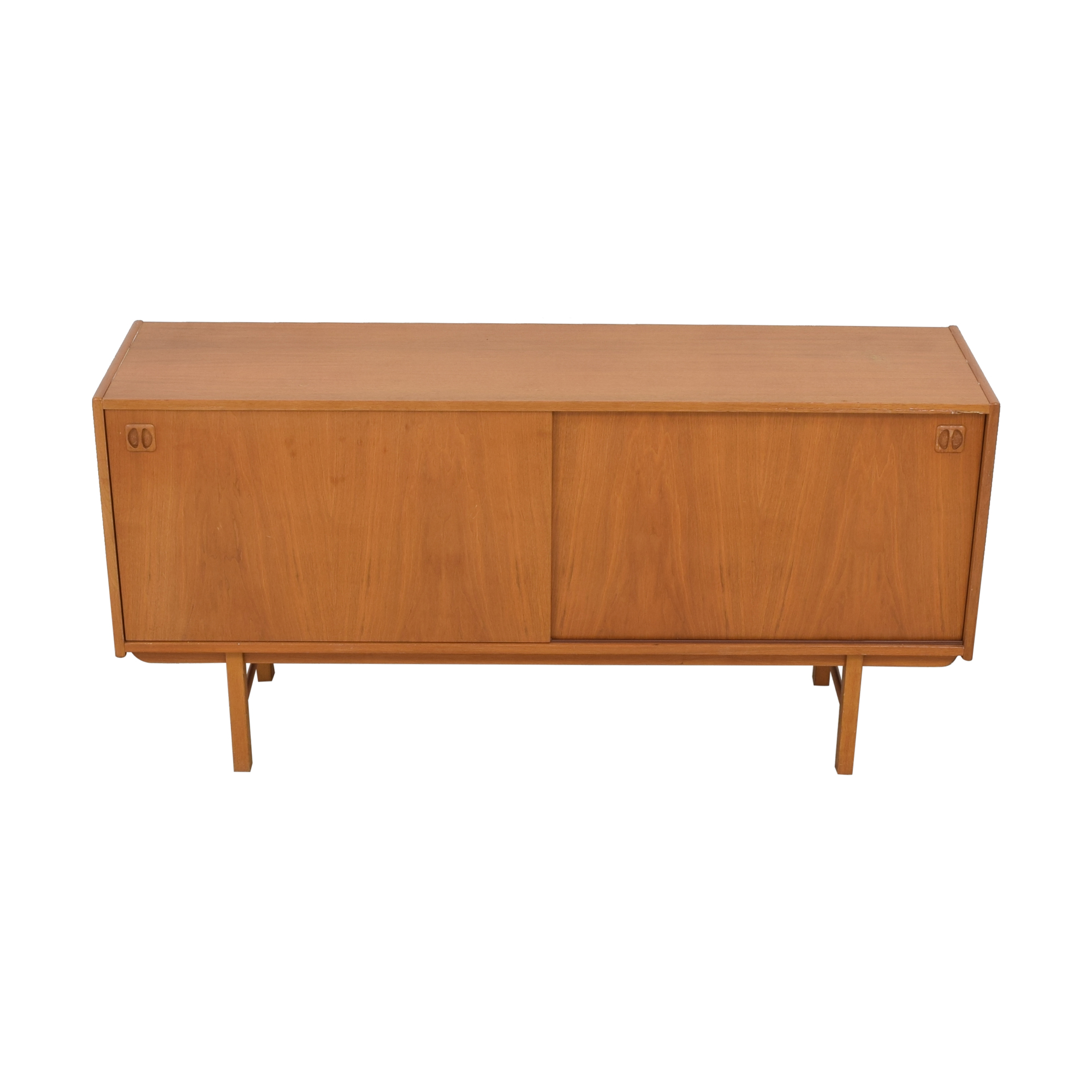 Danish Mid Century Mod Media Credenza coupon