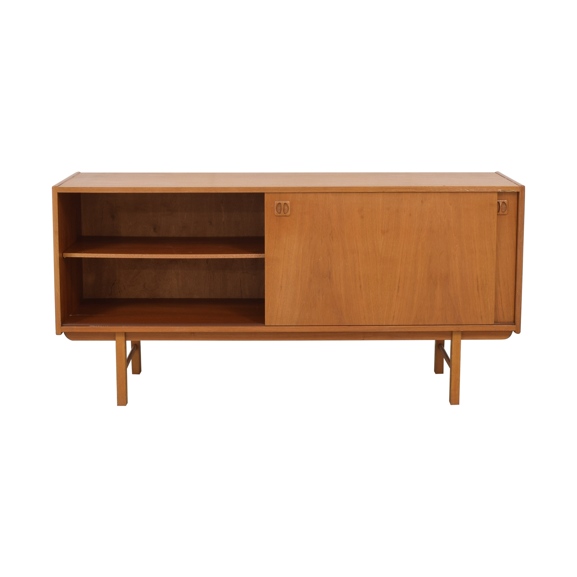 shop Danish Mid Century Mod Media Credenza