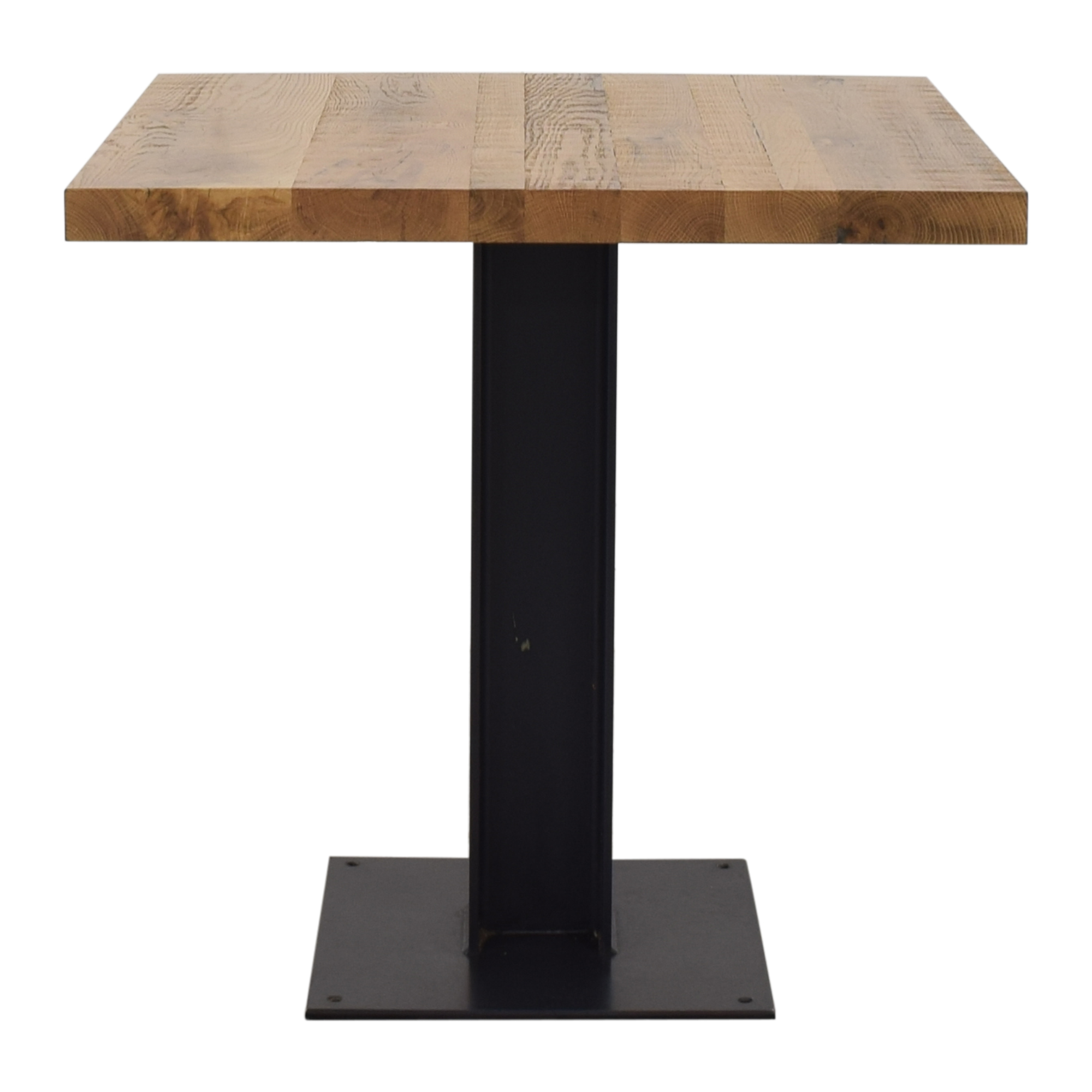 Crow Works Crow Works Fixed I-Beam Square Table nj