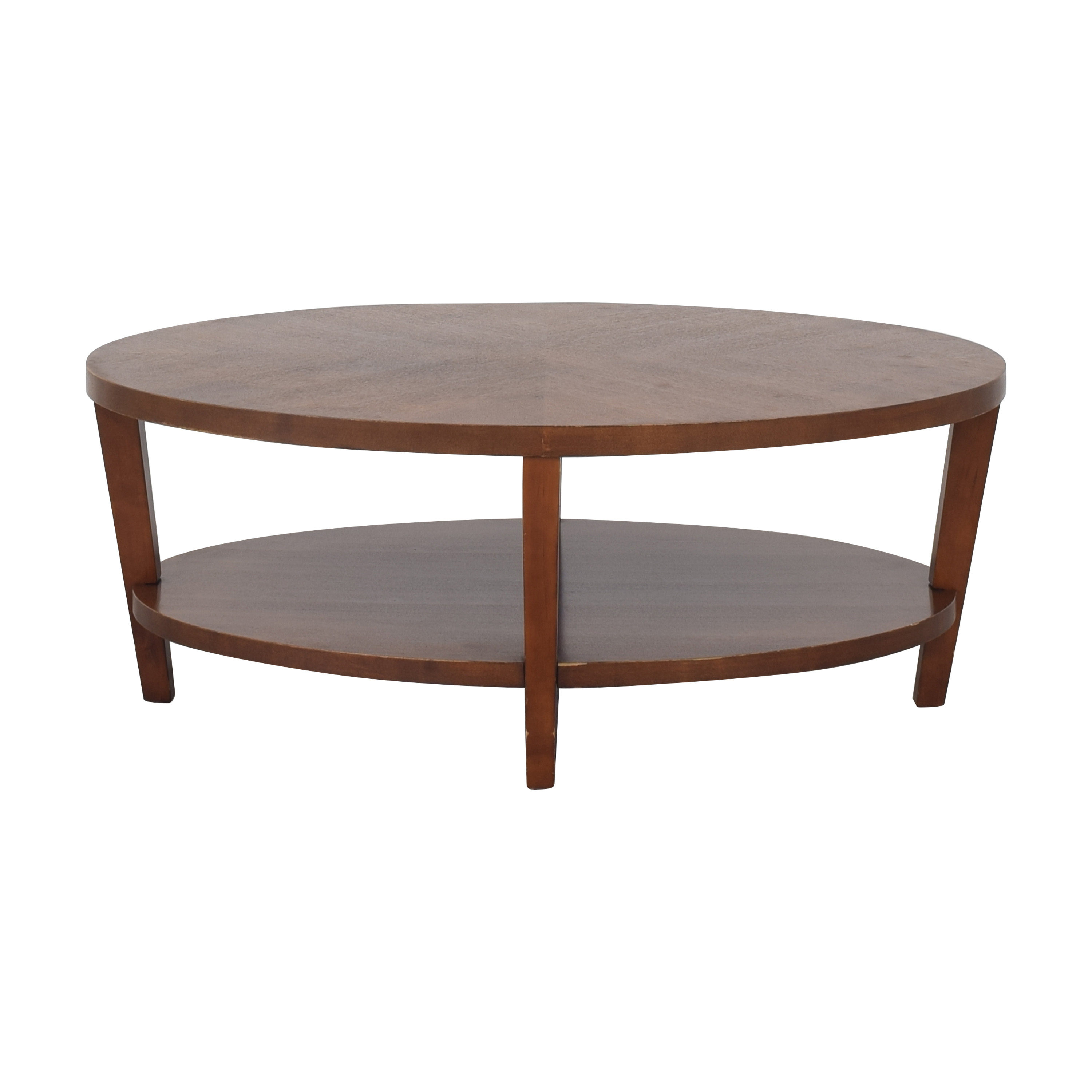 buy Crate & Barrel Art Deco Style Coffee Table Crate & Barrel Coffee Tables