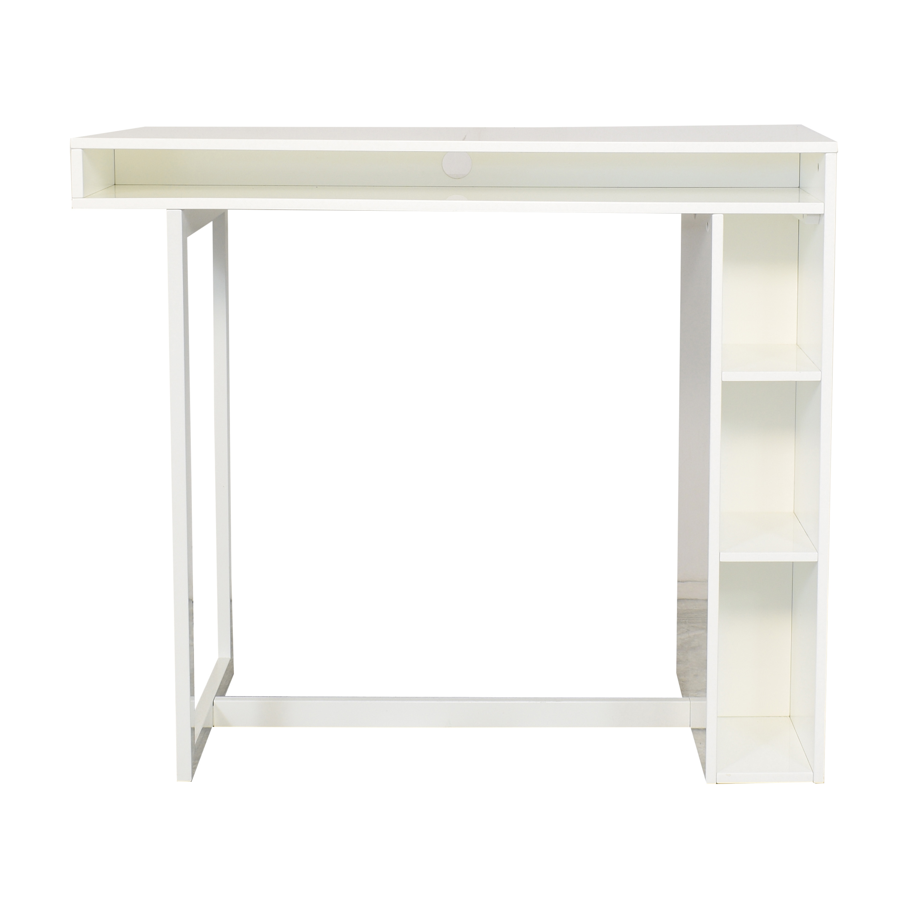 CB2 CB2 Public High Dining Table white
